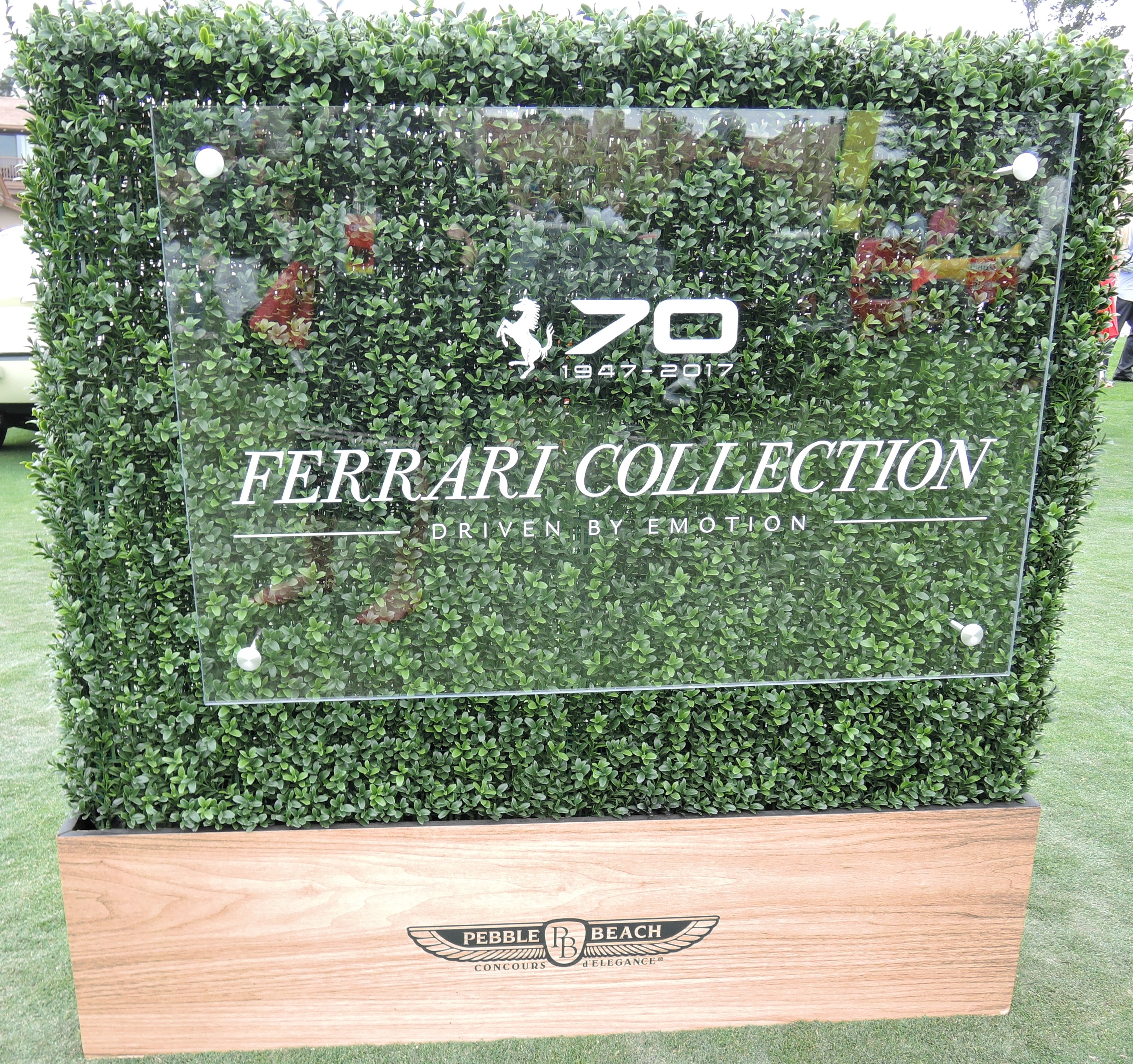 - Ferrari 70th at Pebble Beach