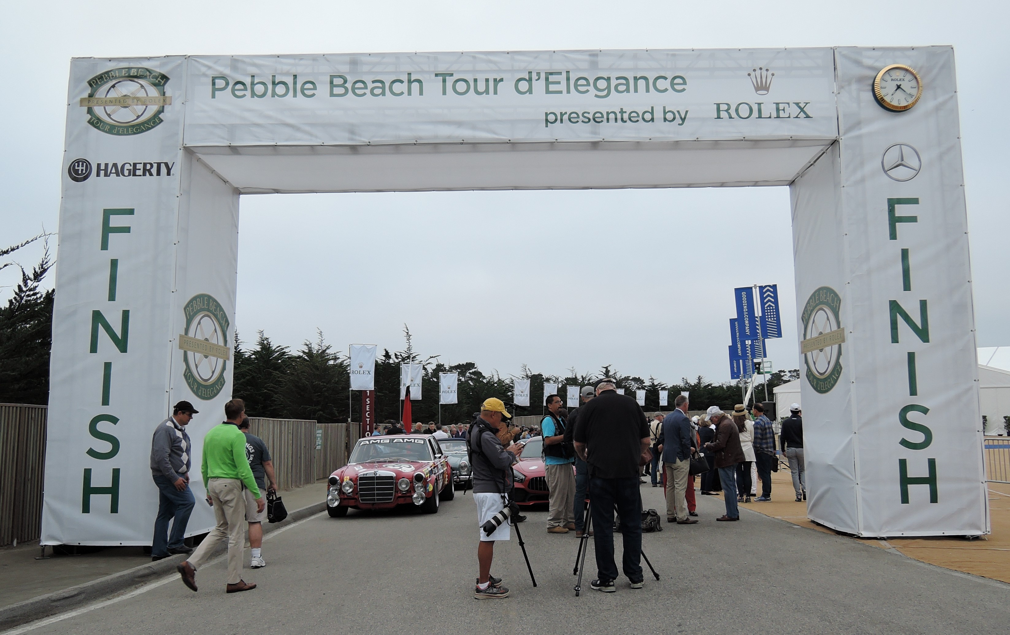 start 2017 Pebble Beach Tour d'Elegance