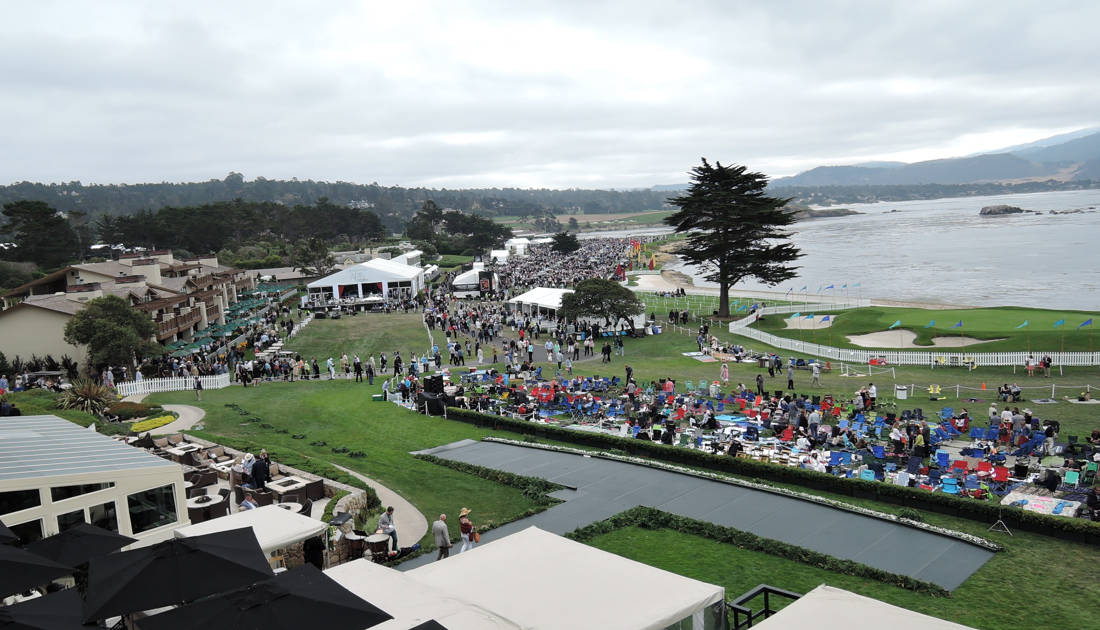 from the FNA suite - Pebble Beach Concours d'Elegance 2017