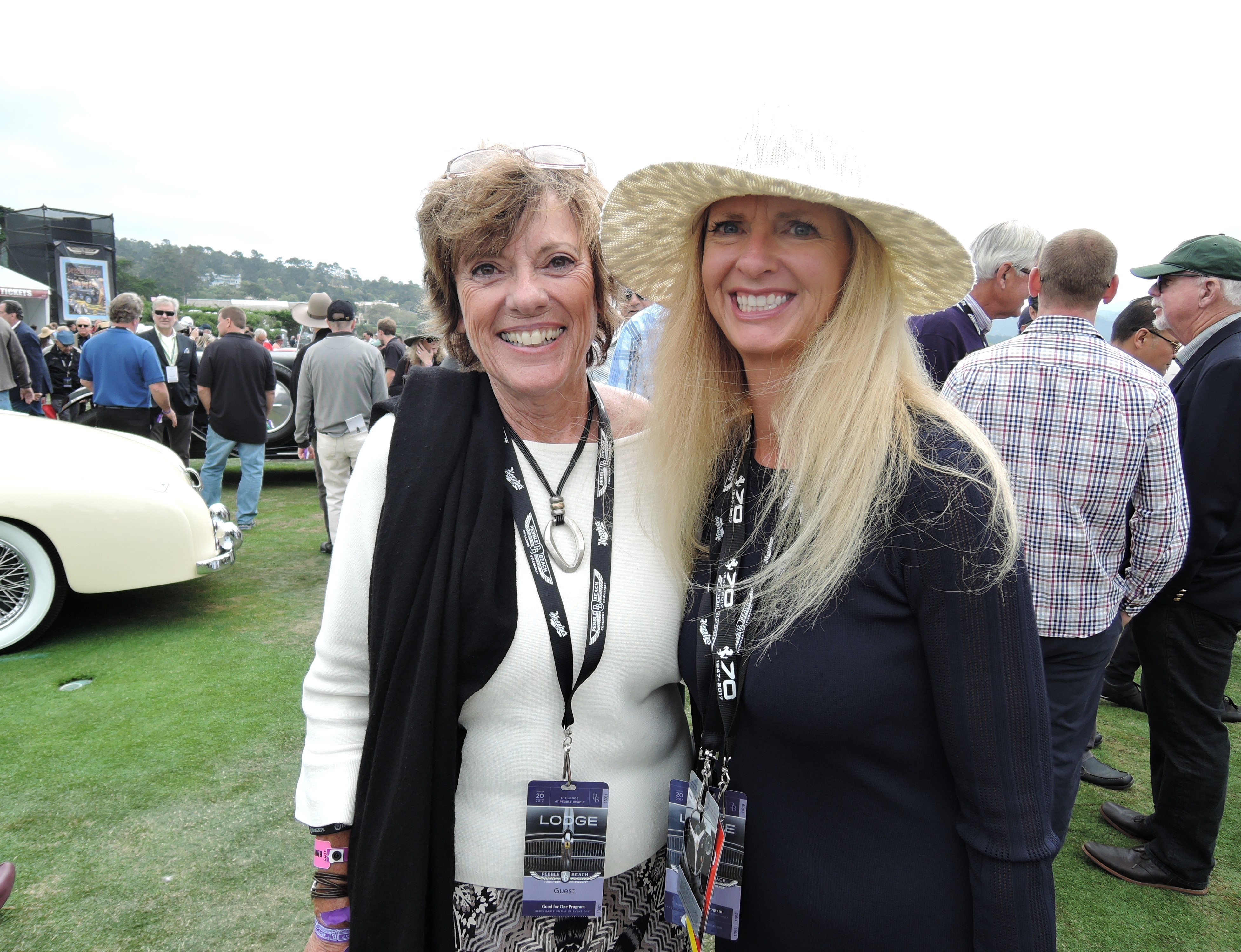 Lyn St. James and The Auto Blonde - Pebble Beach Concours d'Elegance 2017