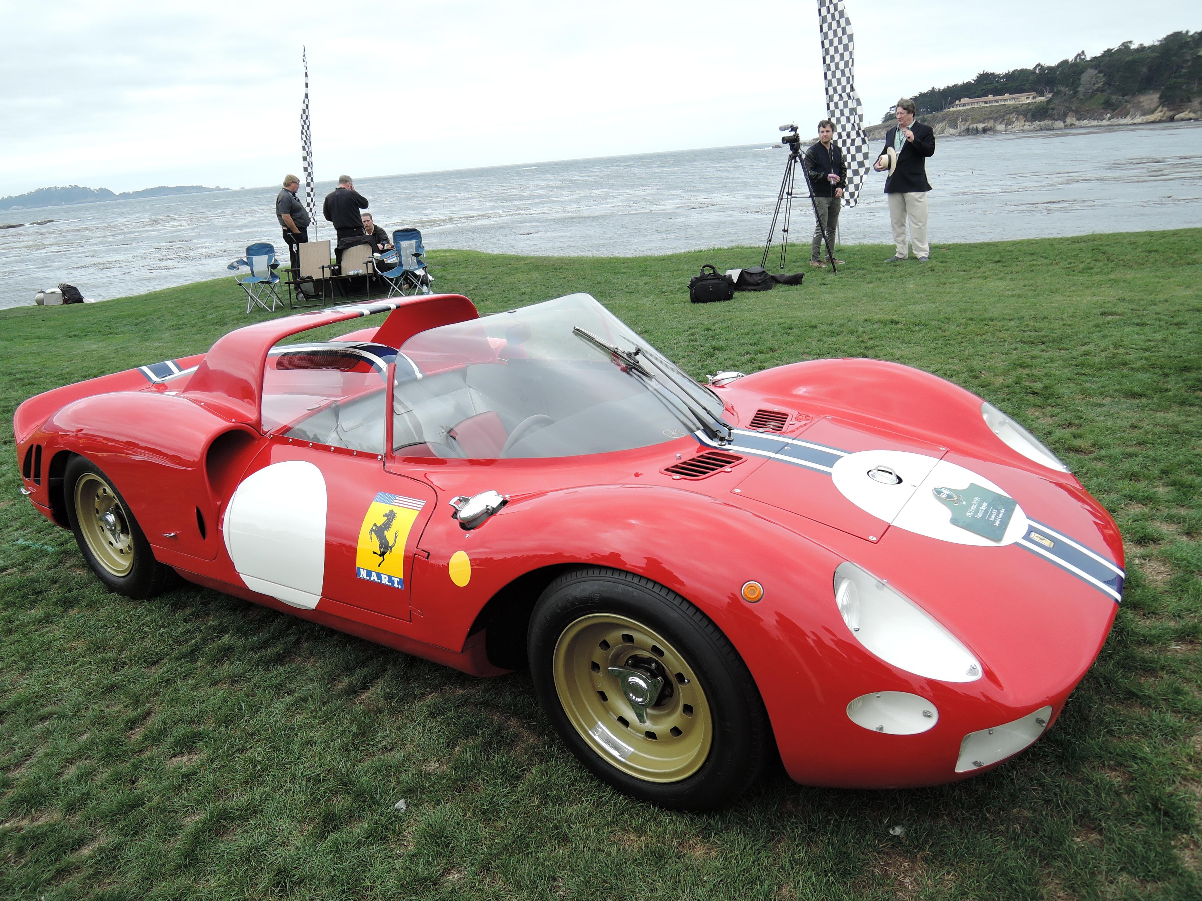 red 1965 Ferrari 365 P2 Fantuzzi Spyder; Sn 0838 - Pebble Beach Concours d'Elegance 2017
