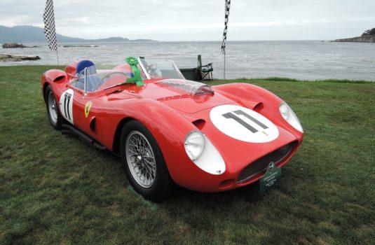 red 1959 Ferrari 250 TR59/60 Faantuzzi Spyder; Sn 0774 TR - Pebble Beach Concours d'Elegance 2017