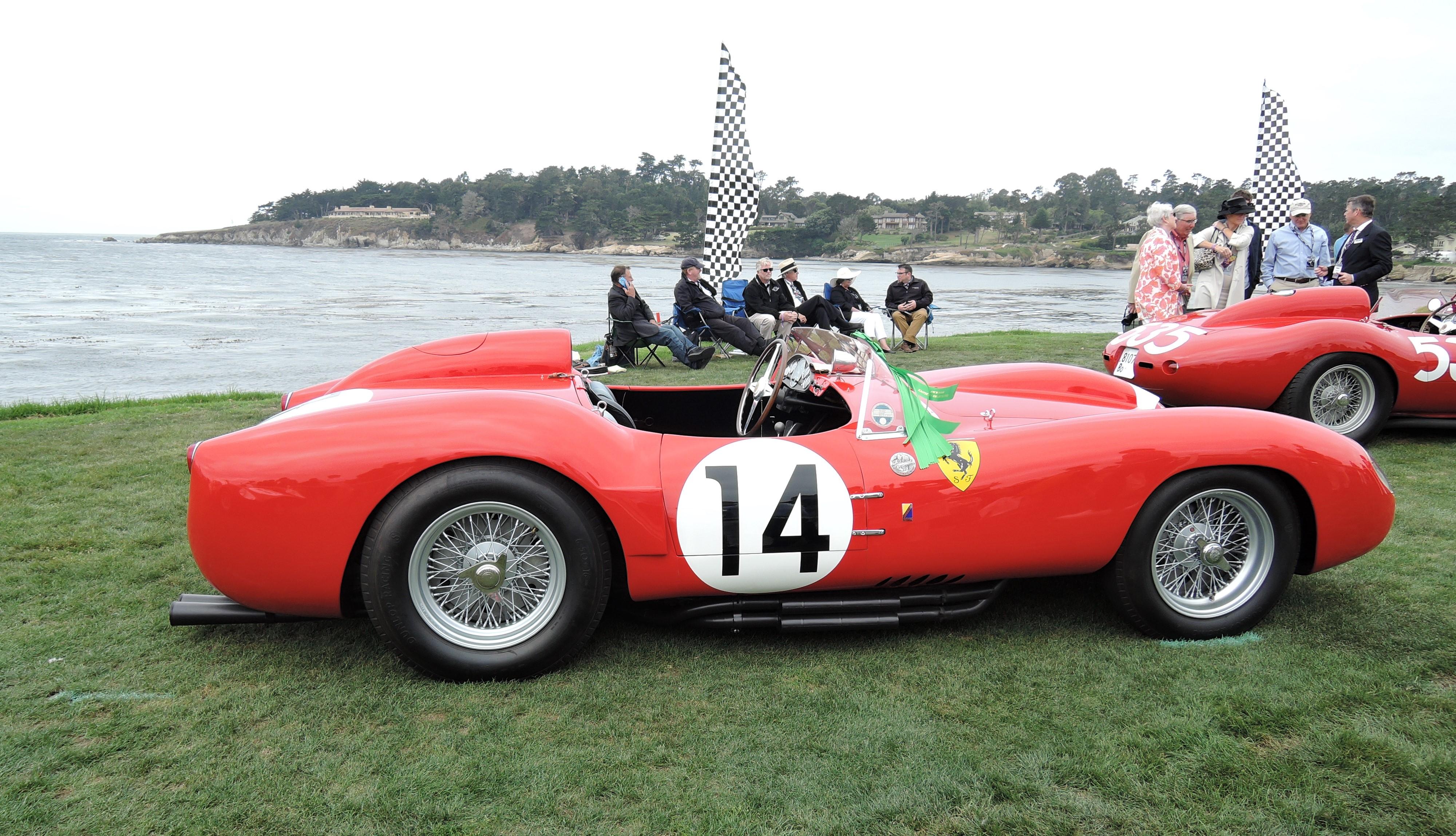red 1958 Ferrari 250 Testa Rossa Scagliett Spyder; Sn 0728 - Pebble Beach Concours d'Elegance 2017