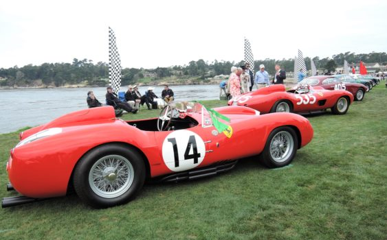 Ferrari - Major Race Winners - Pebble Beach Concours d'Elegance 2017