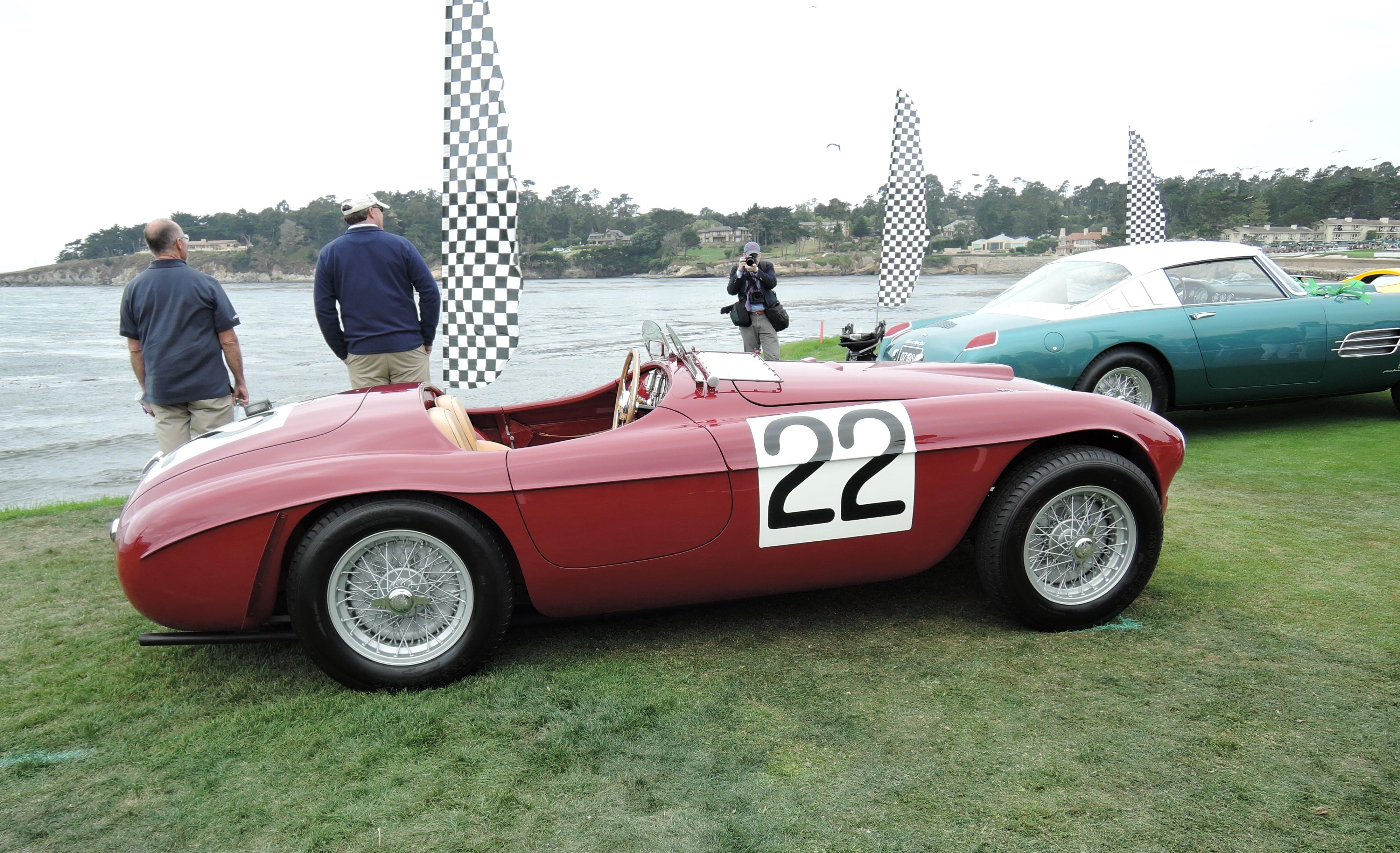 red 1949 Ferrari 166 MM Touring Barchetta; Sn 0008M - Pebble Beach Concours d'Elegance 2017