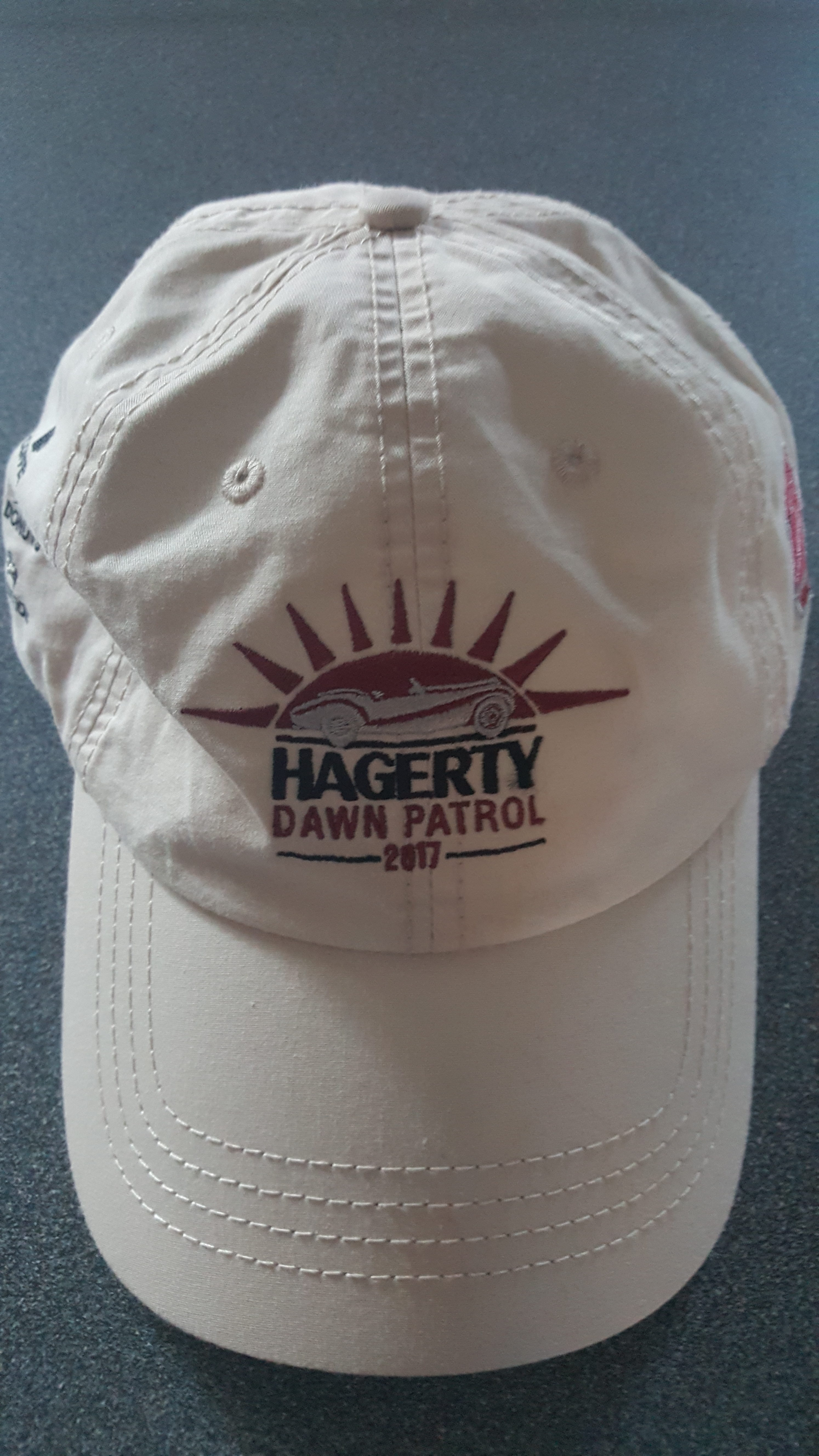 Hagerty Dawn Patrol hat - Pebble Beach Concours d'Elegance 2017