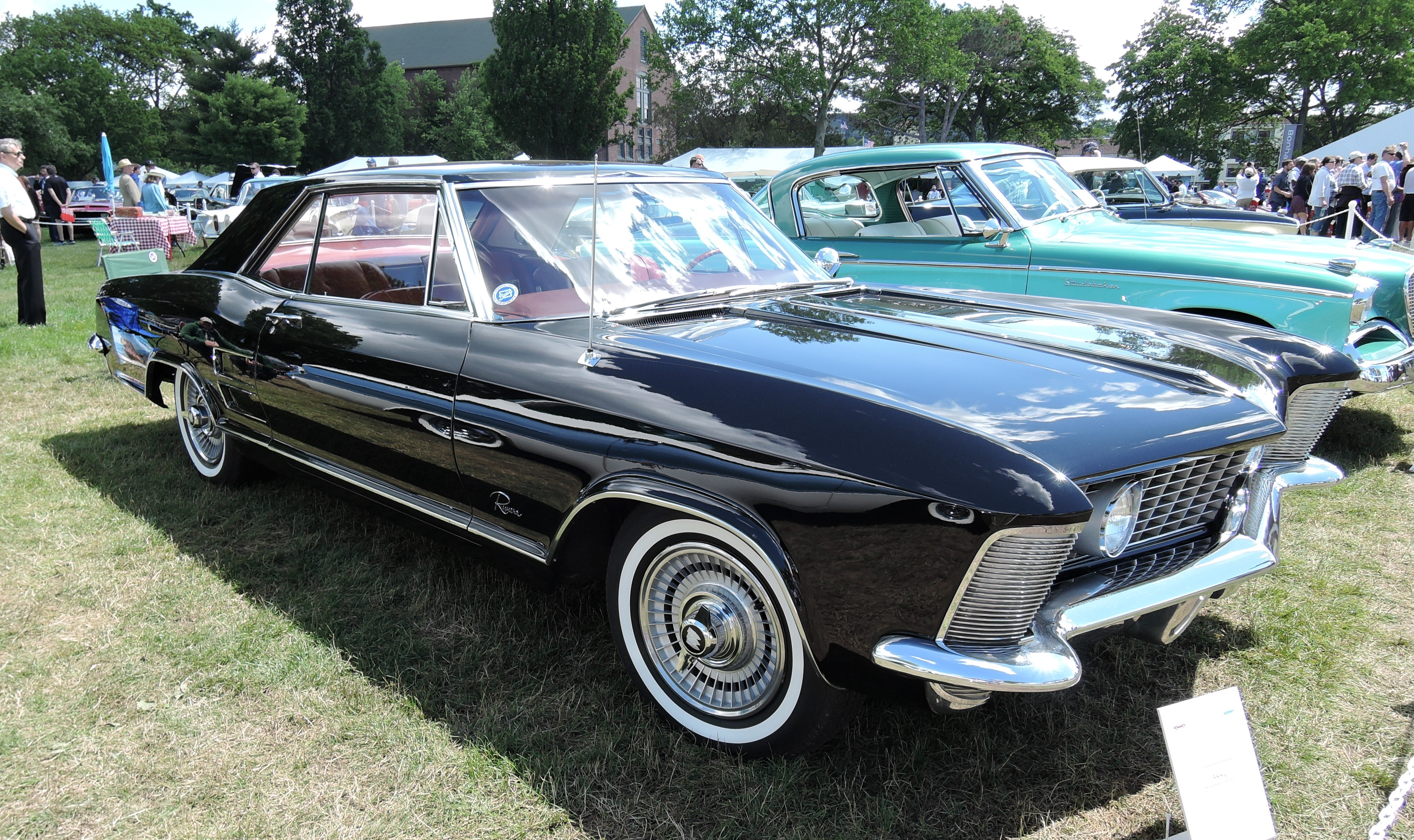 black 1963 Buick Riviera - Greenwich Concours d'Elegance 2017