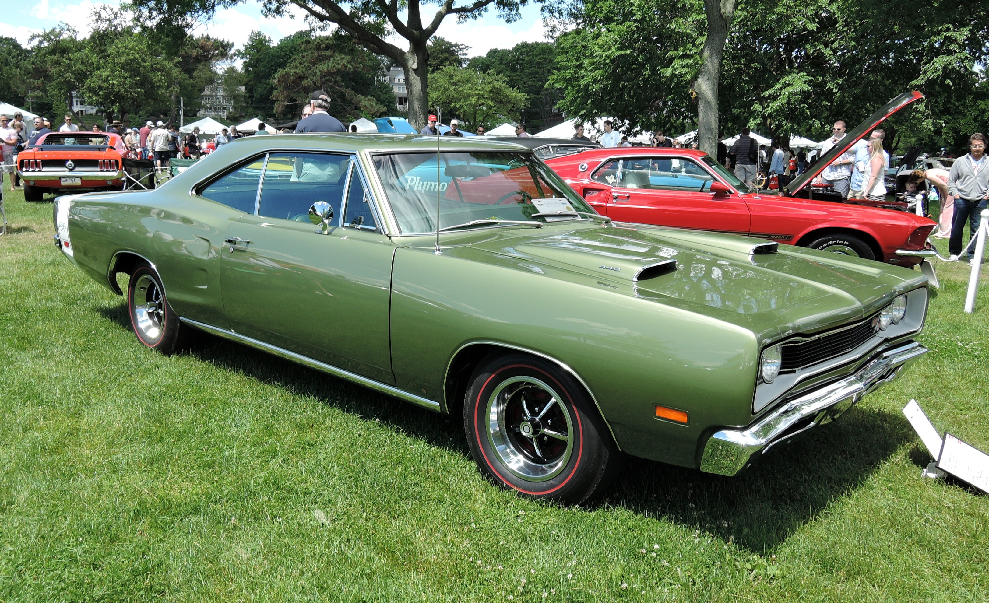 green 1969 Dodge Coronet R/T - Greenwich Concours d'Elegance 2017