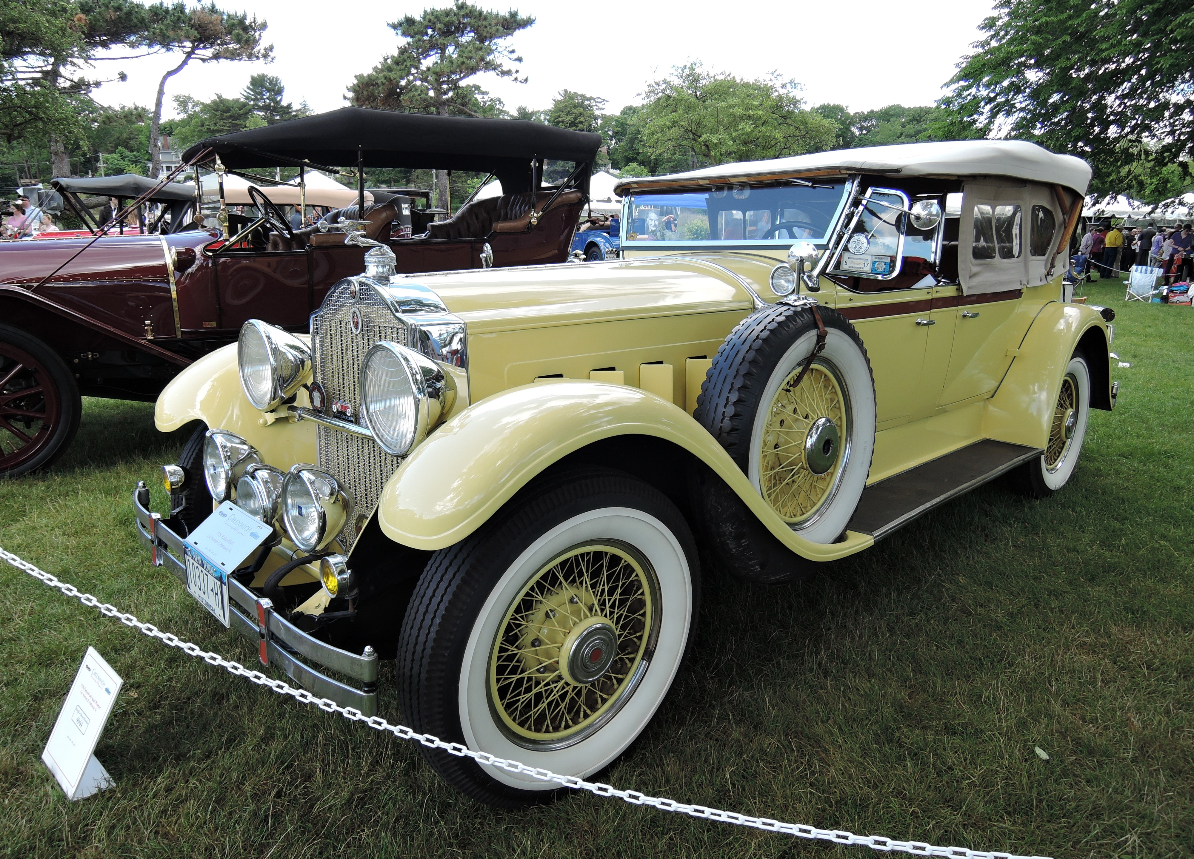Greenwich Concours d'Elegance; Domestics - The Auto Blonde