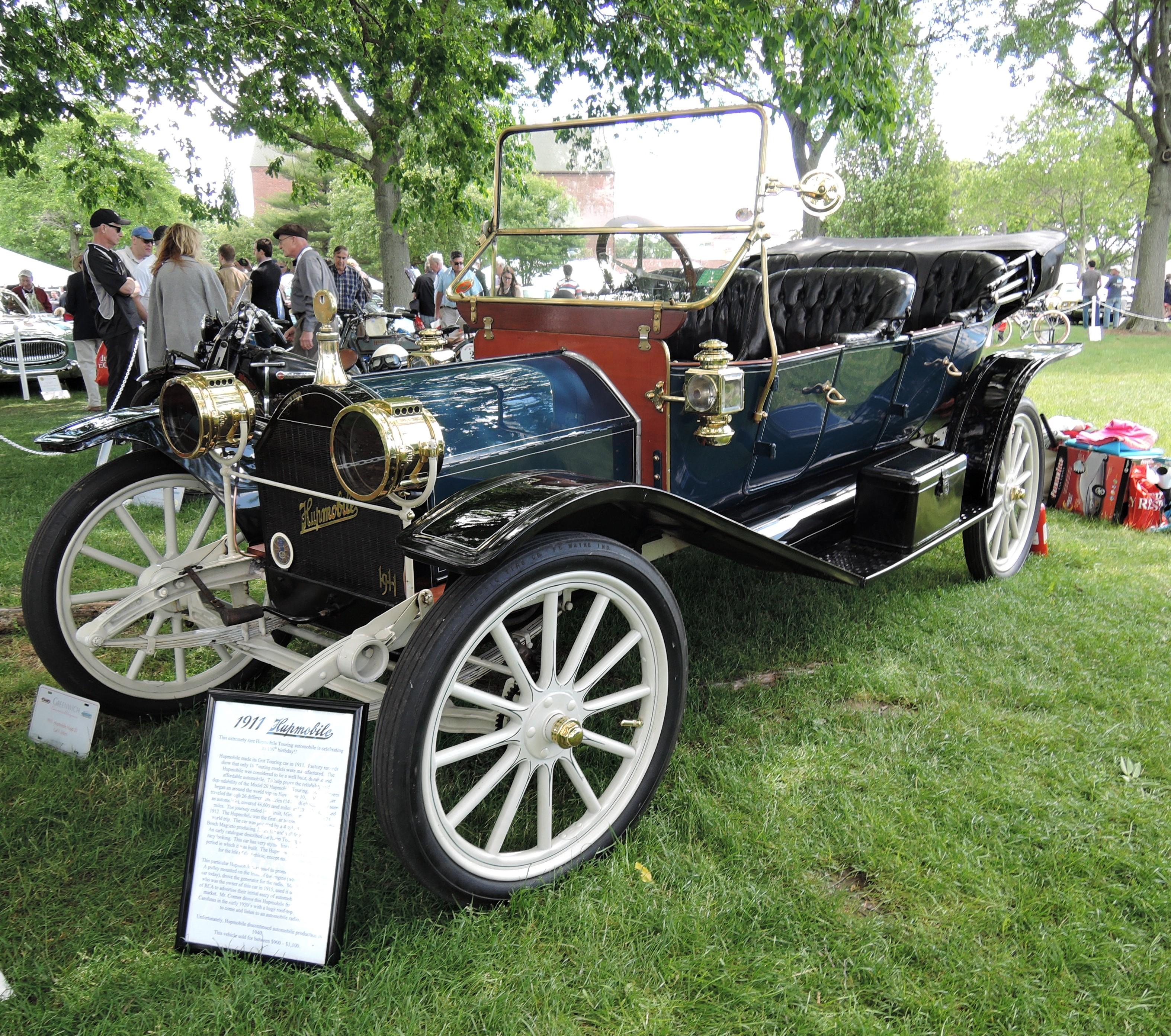 blue 1911 Hupmobile Hupp 20 - Greenwich Concours d'Elegance 2017
