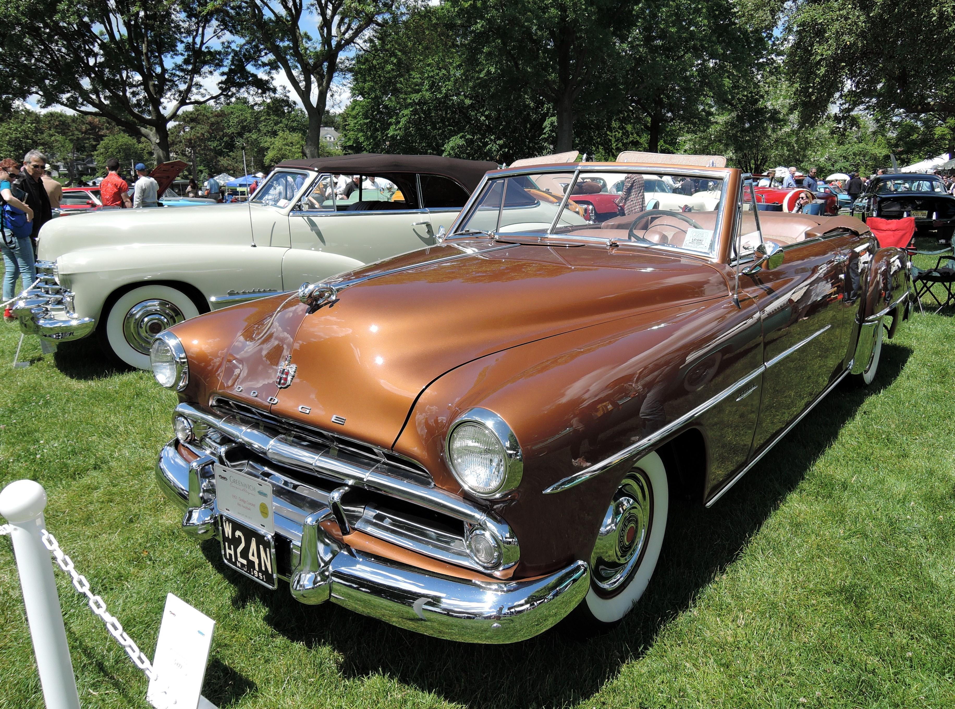 copper 1951 Dodge Coronet - Greenwich Concours d'Elegance 2017