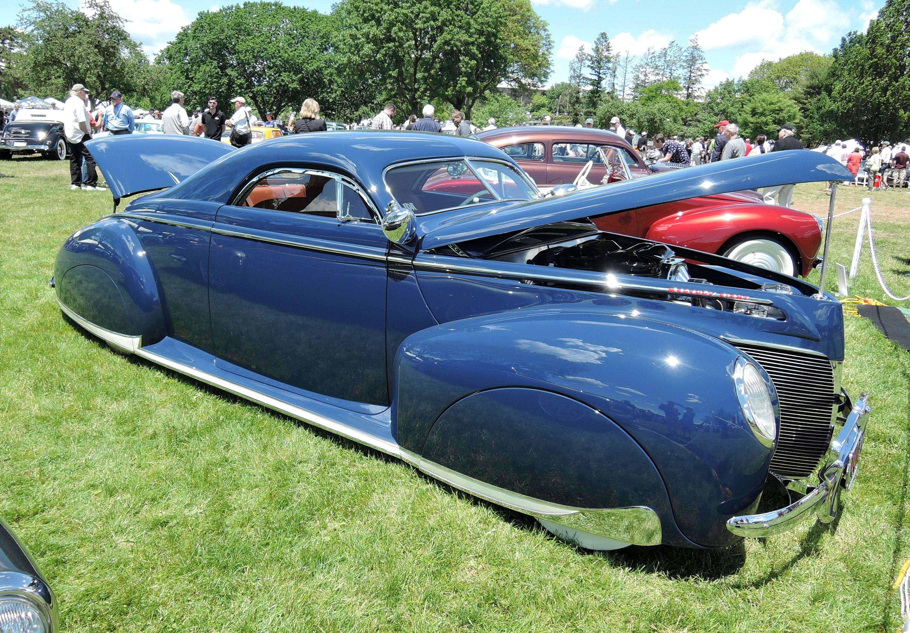 blue 1940 Mercury Sport by Ida Automotive - Greenwich Concours d'Elegance 2017