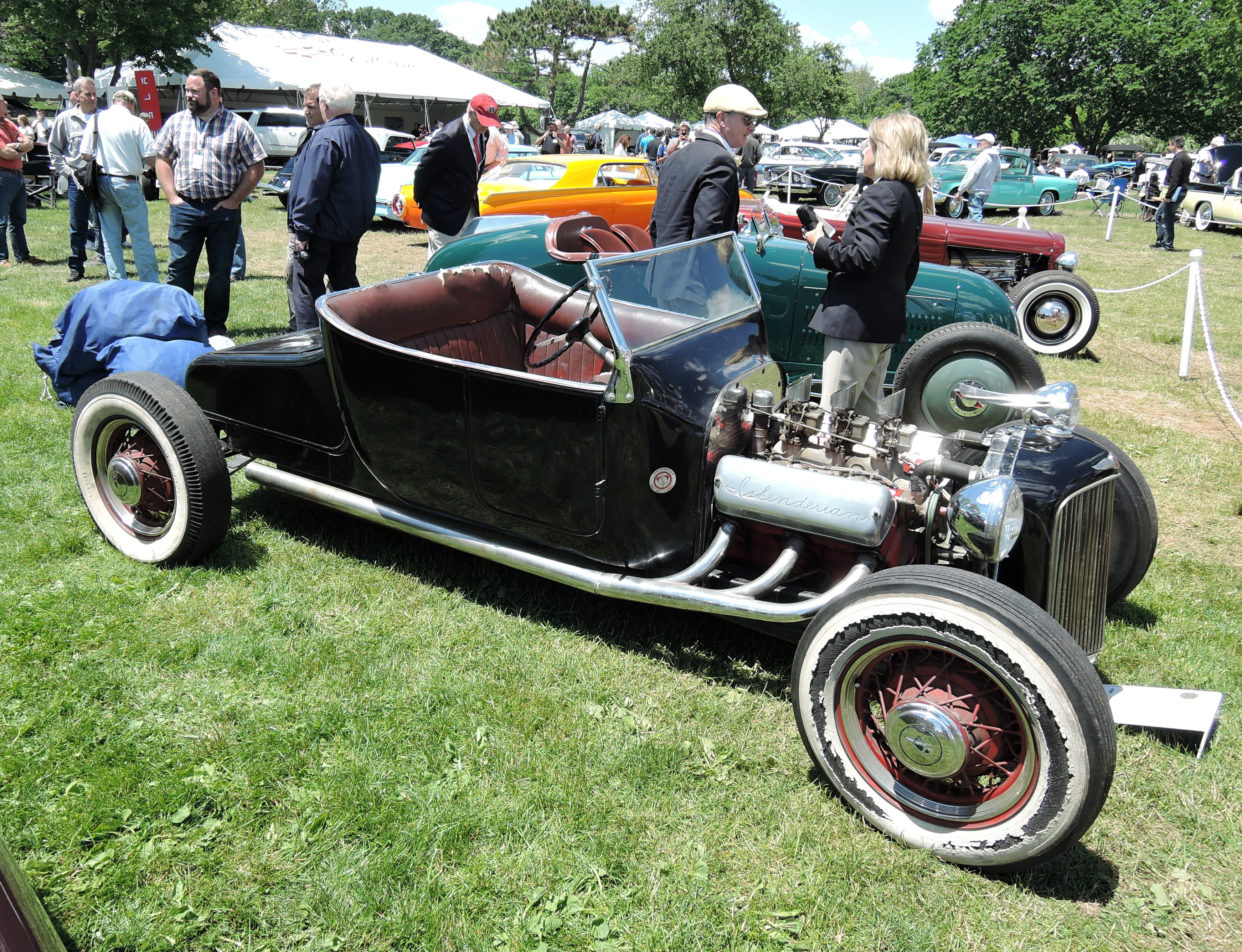 black 1924 Ford Model T Roadster - Greenwich Concours d'Elegance 2017