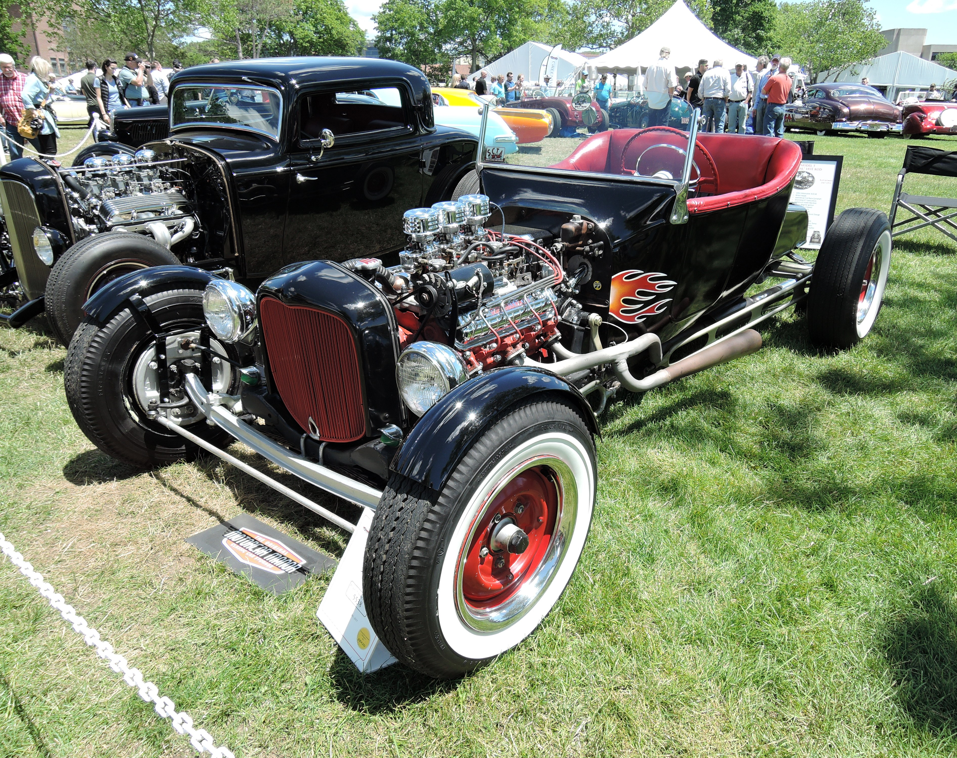 black 1923 Ford Model T Roadster - Greenwich Concours d'Elegance 2017