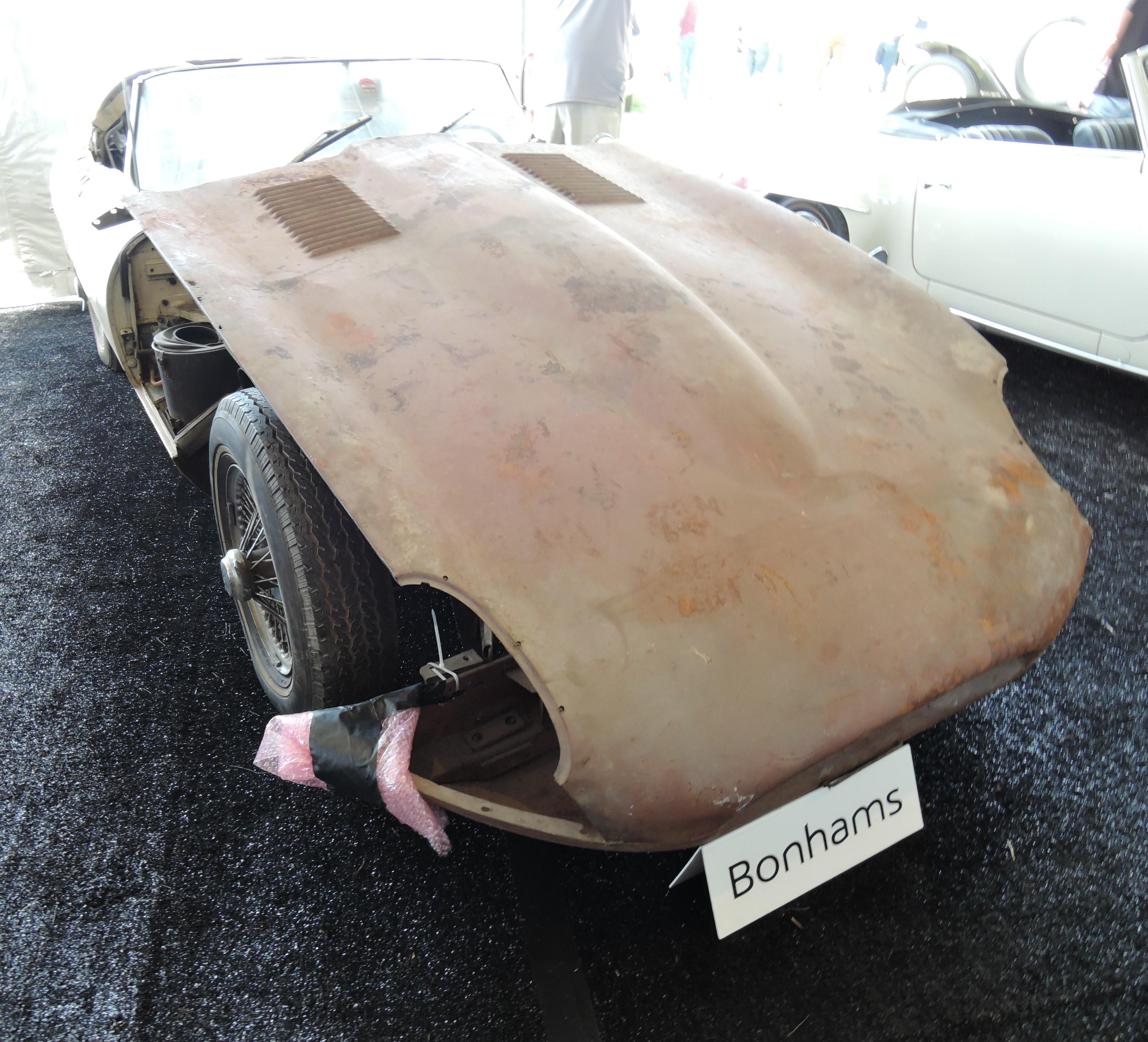 bonhams white project 1966 Jaguar E-Type Series I 4.2 Roadster - Greenwich Concours d'Elegance 2017