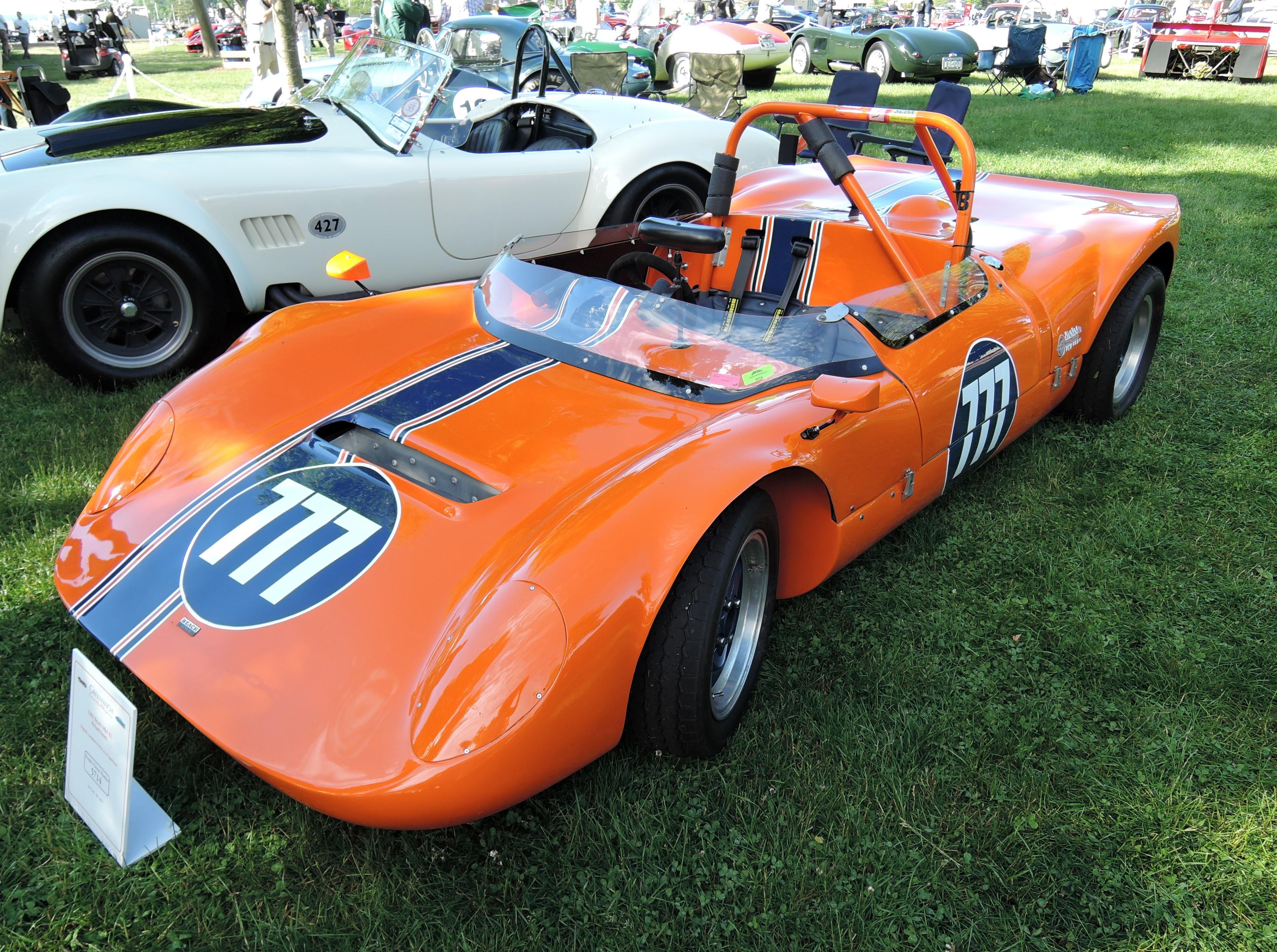 orange 1965 Beach Mk4 B2 - Greenwich Concours d'Elegance 2017