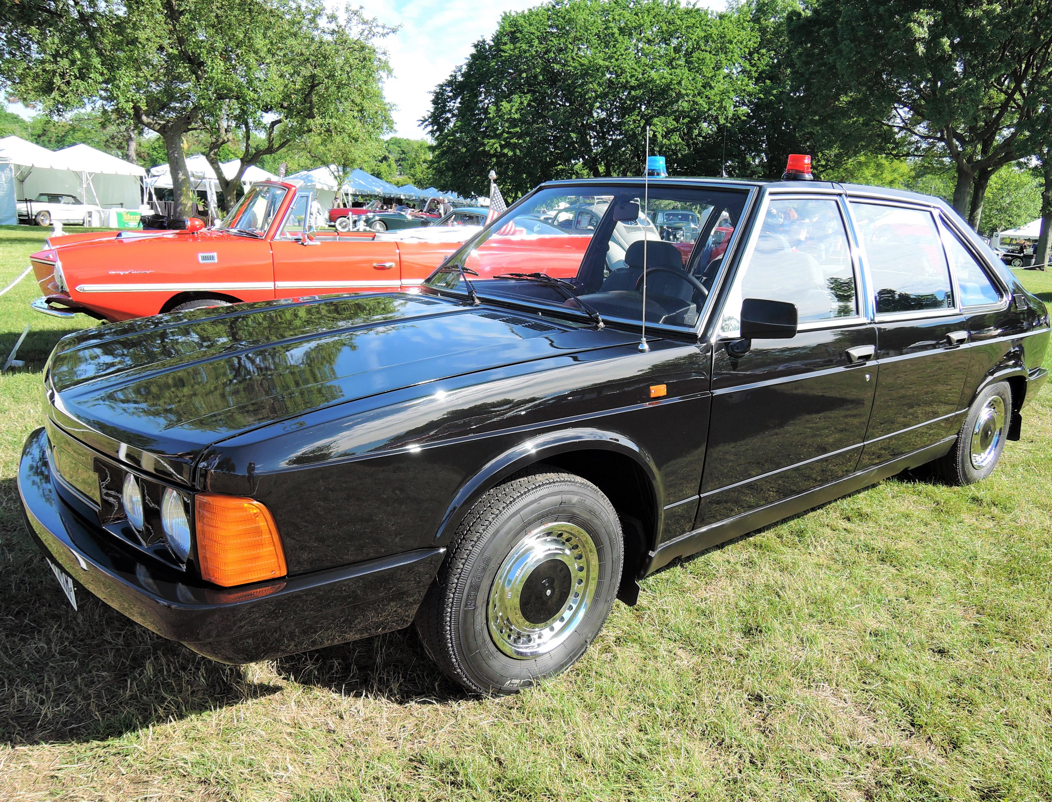 black 1989 Tatra 613 Sedan - Greenwich Concours d'Elegance 2017