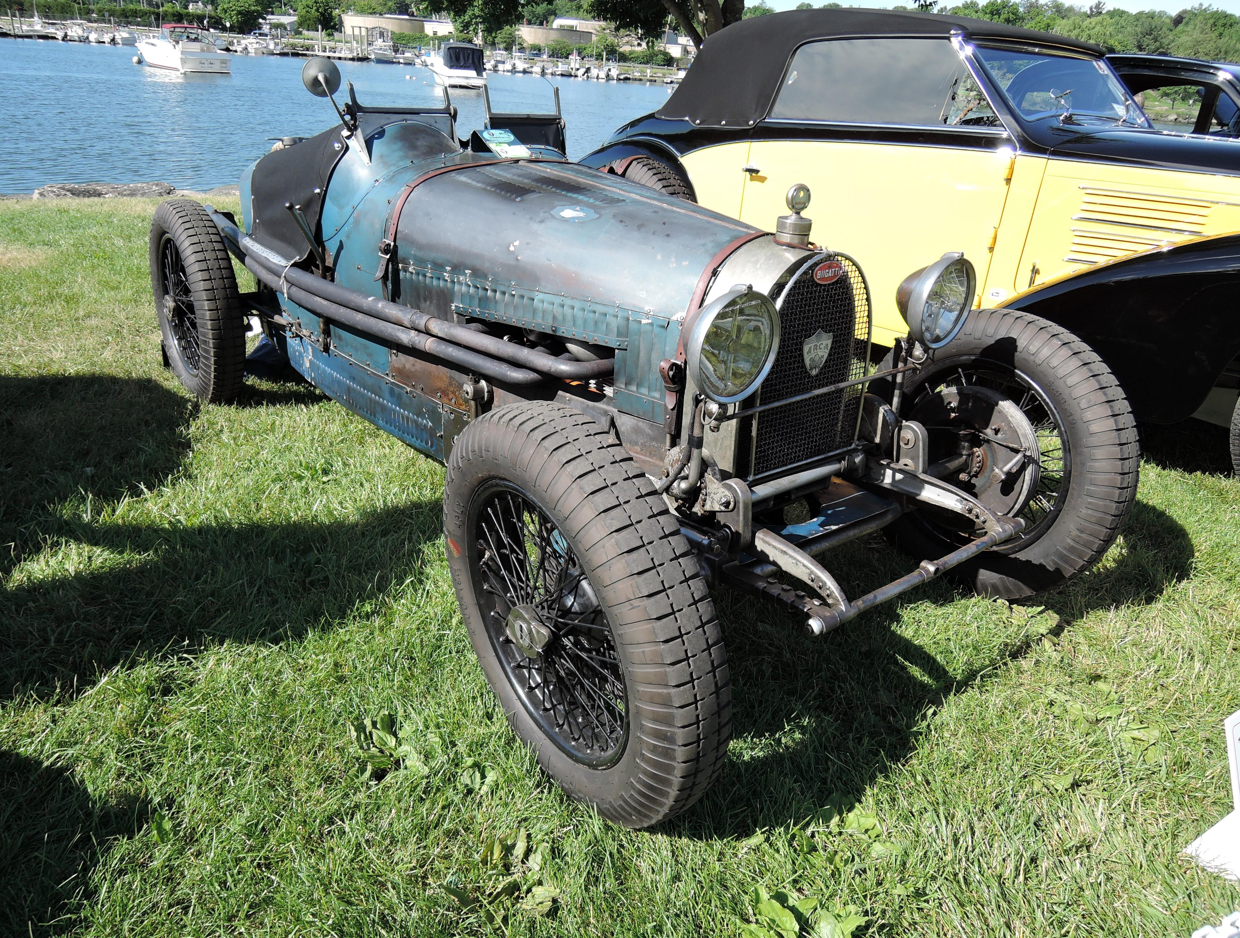 blue 1931 Bugatti T37 Special Grand Prix - Greenwich Concours d'Elegance 2017