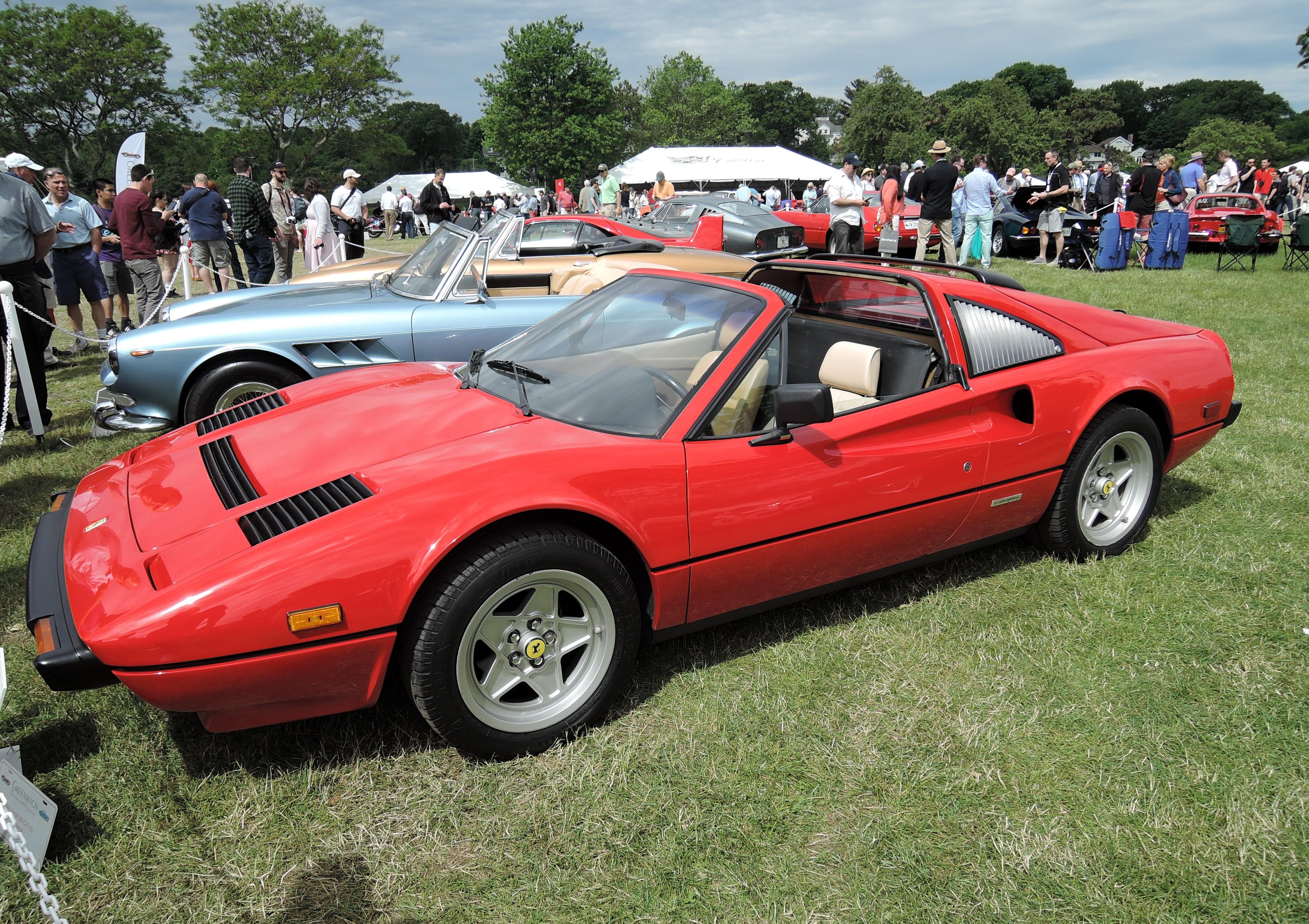 red 1984 Ferrari 308 GTSi QV - Greenwich Concours d'Elegance 2017