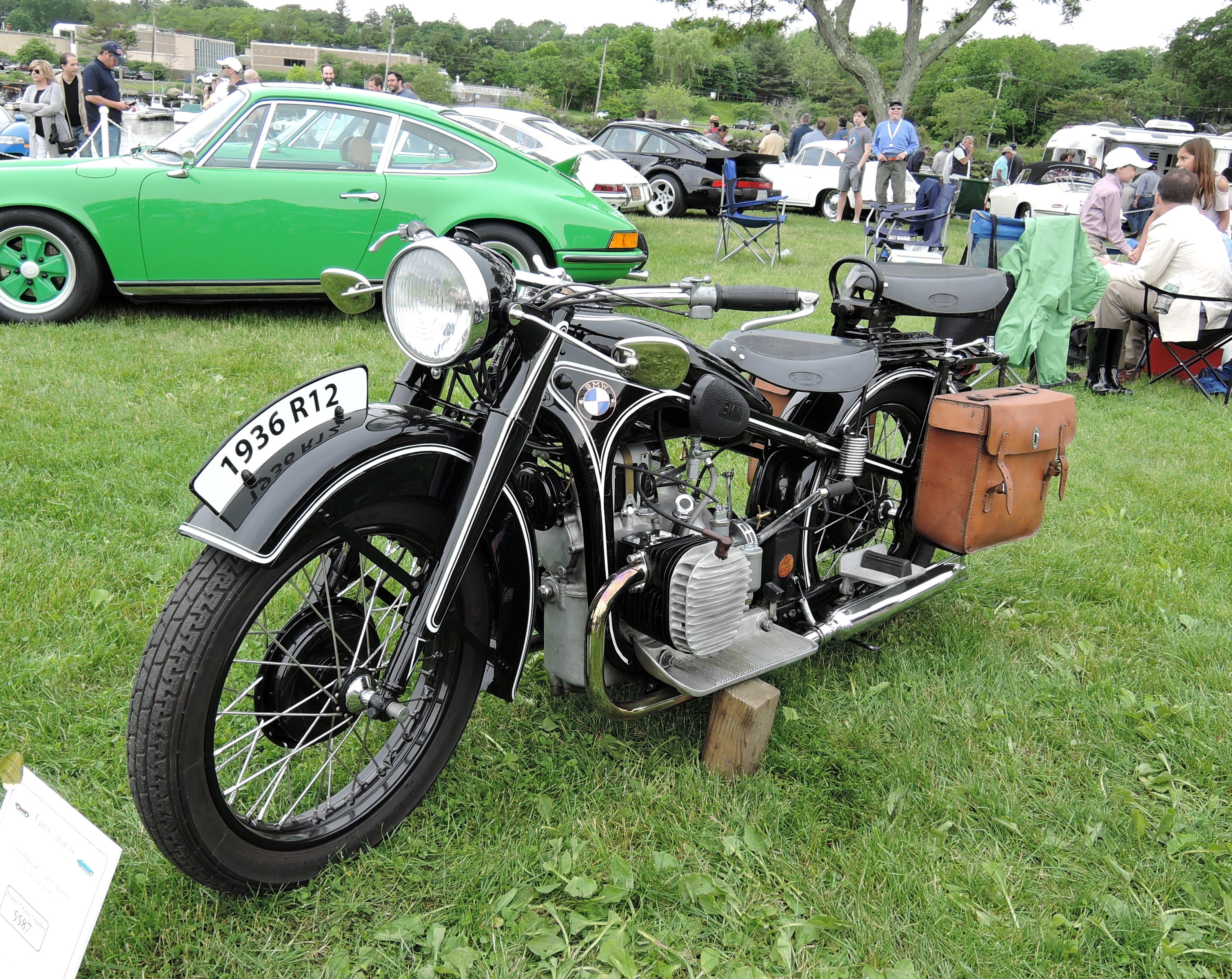1936 BMW R12 Sport Touring Motorcycle - Greenwich Concours d'Elegance 2017