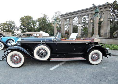 black 1929 Rolls-Royce Phantom I Brewster Ascot Phateon - Audrain Auto Museum Gala 2017
