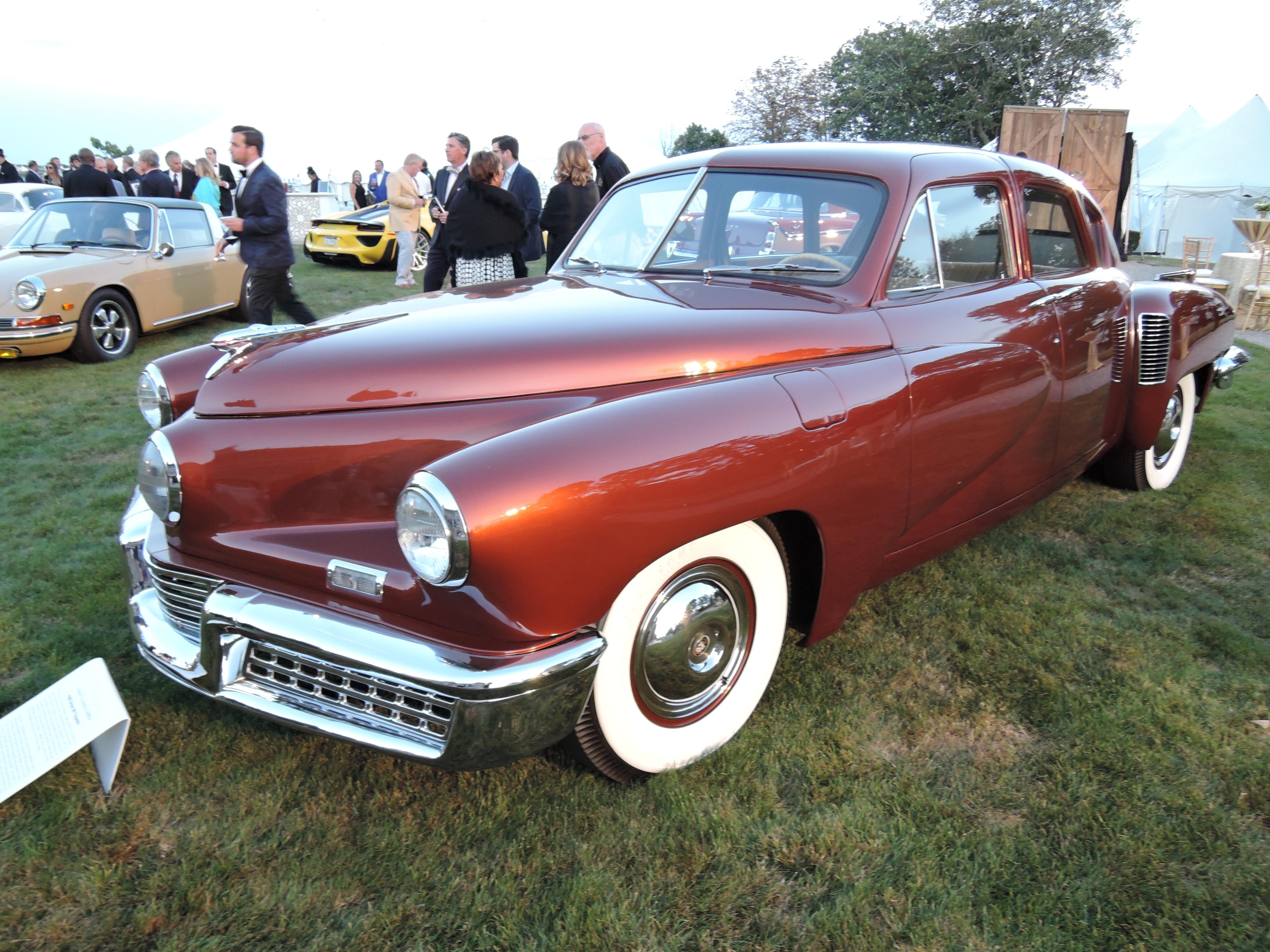 brown 1948 Tucker 48 Torpedo - Audrain Auto Museum Gala 2017