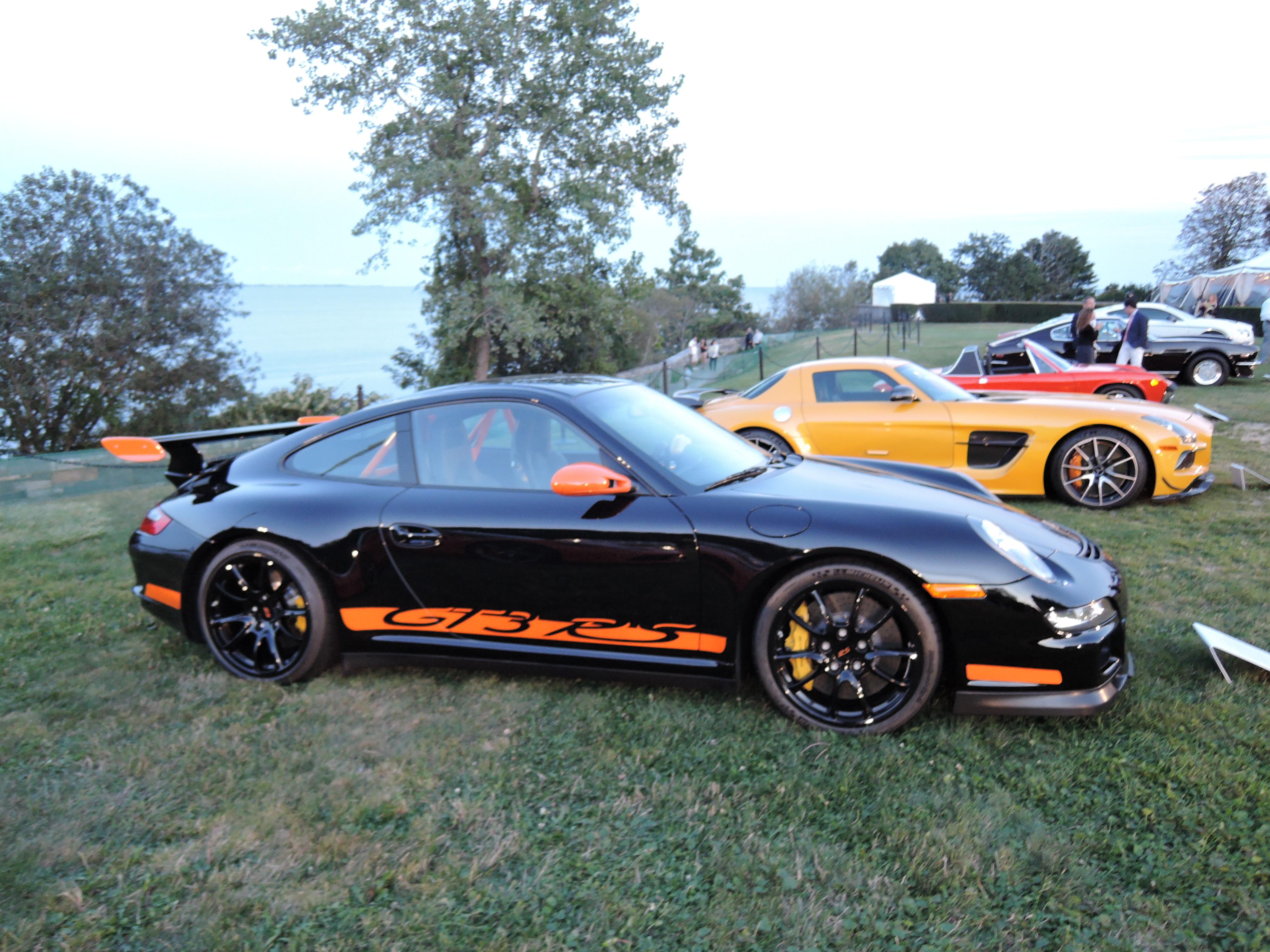 black 2011 Porsche 911 GT3 RS - Audrain Auto Museum Gala 2017