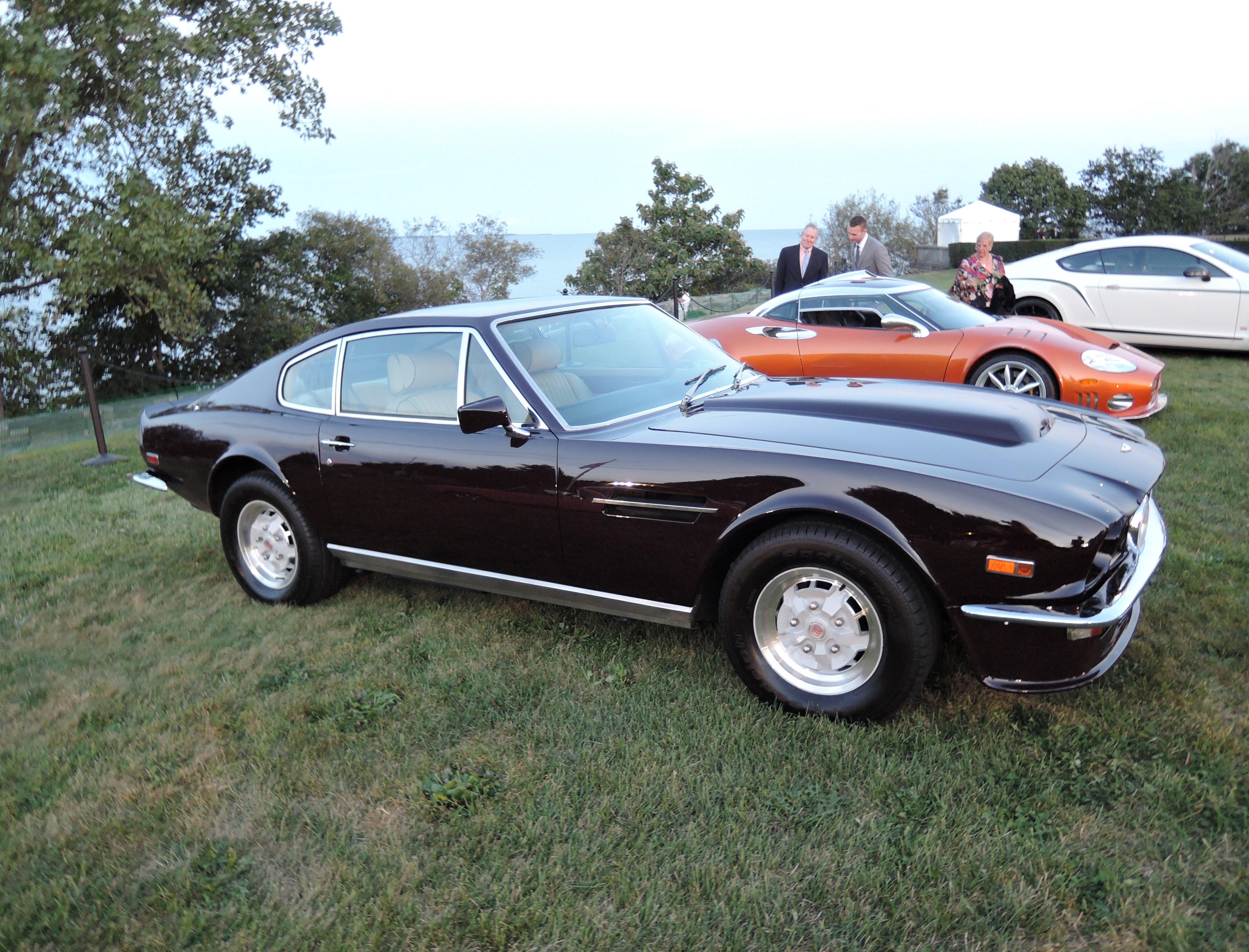 black 1978 Aston Martin V8 'Canadian Vantage' - Audrain Auto Museum Gala 2017