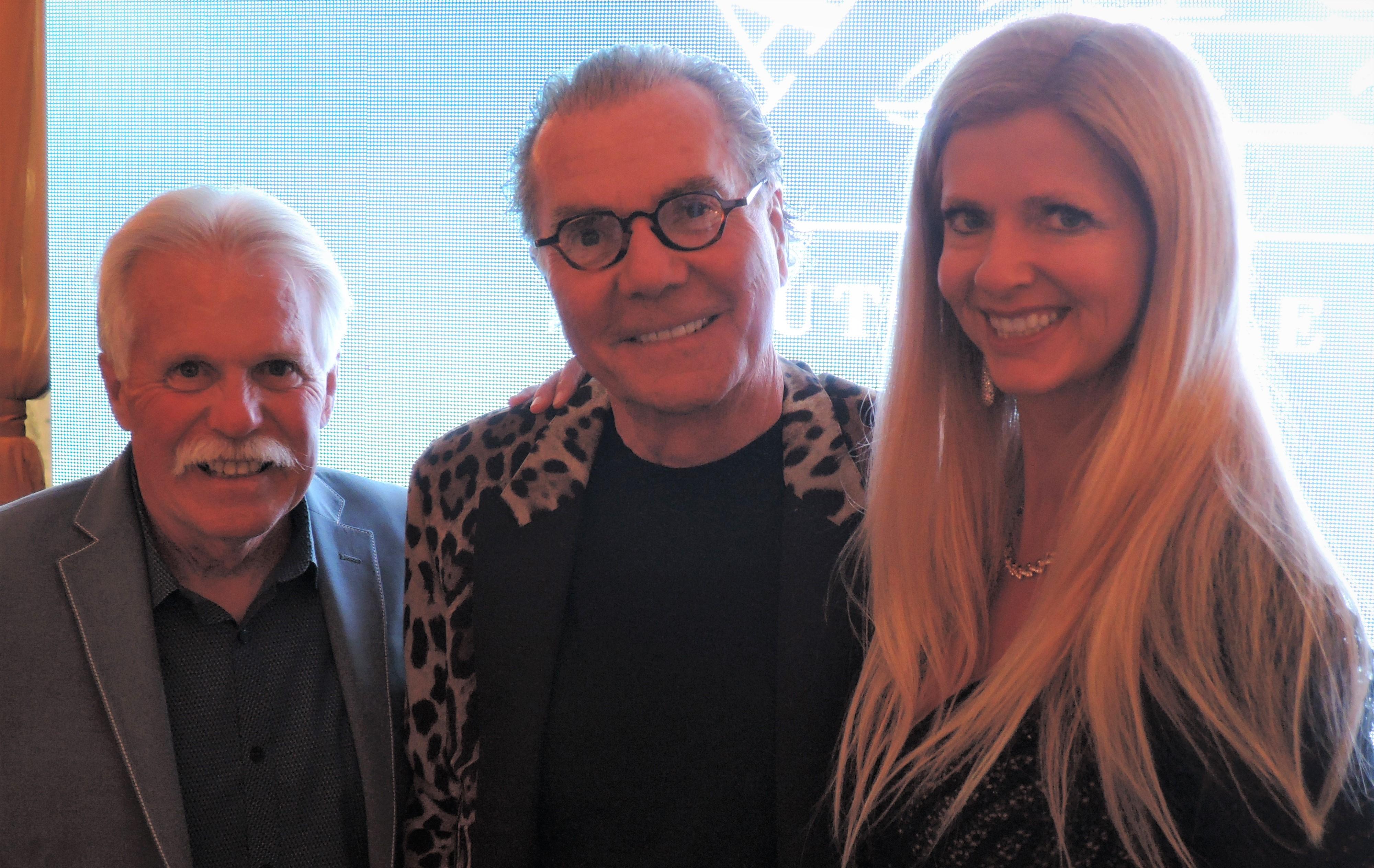 Wayne Carini, Herb Chambers, The Auto Blonde - Audrain Auto Museum Gala 2017