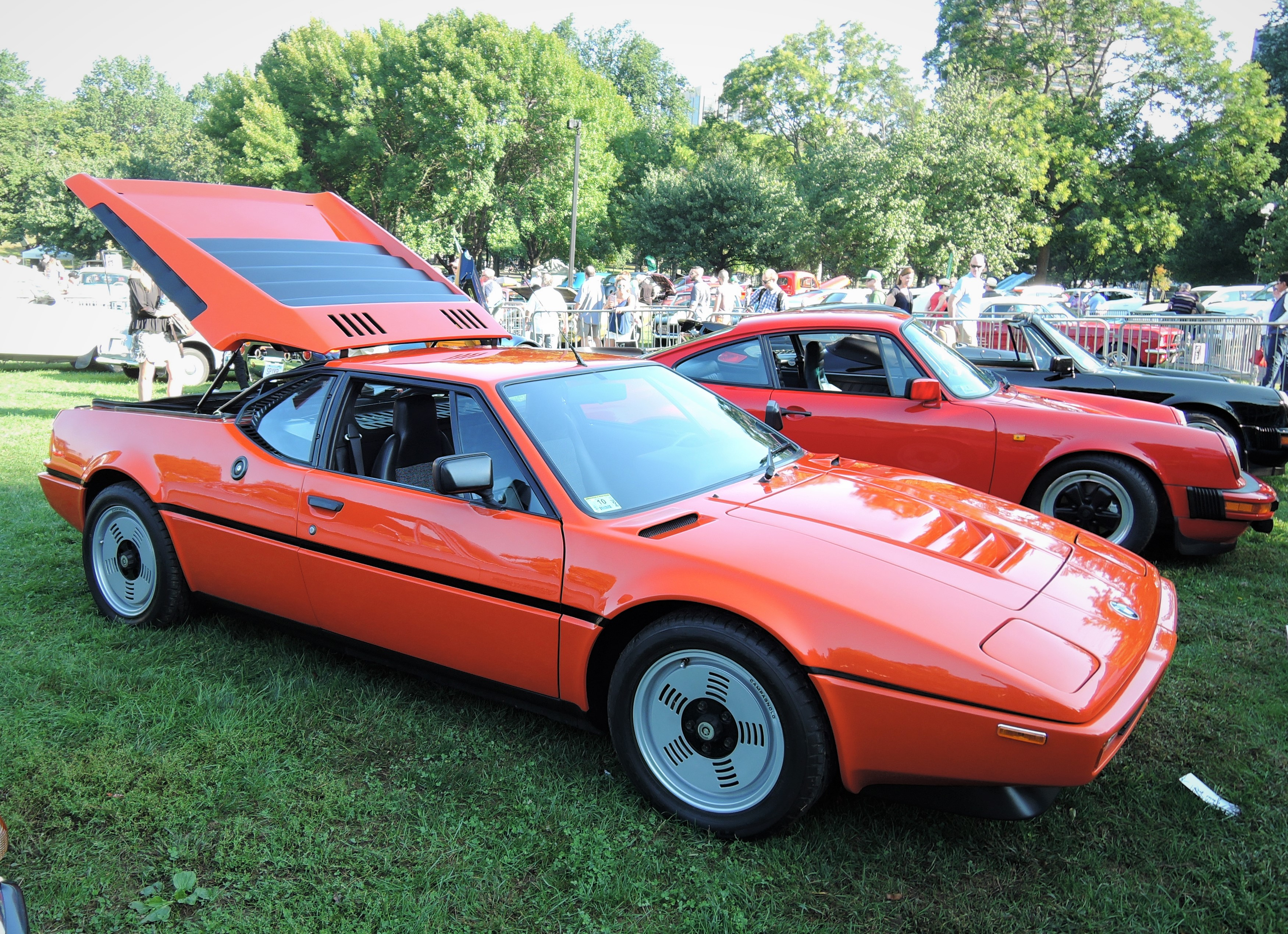 orange 1980 BMW M1 - The Boston Cup 2017