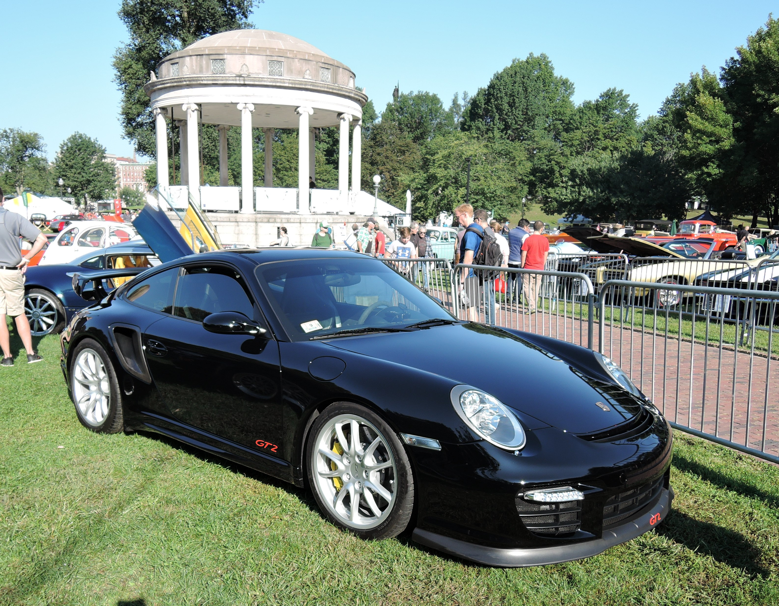 black Porsche 911 GT2 - The Boston Cup 2017
