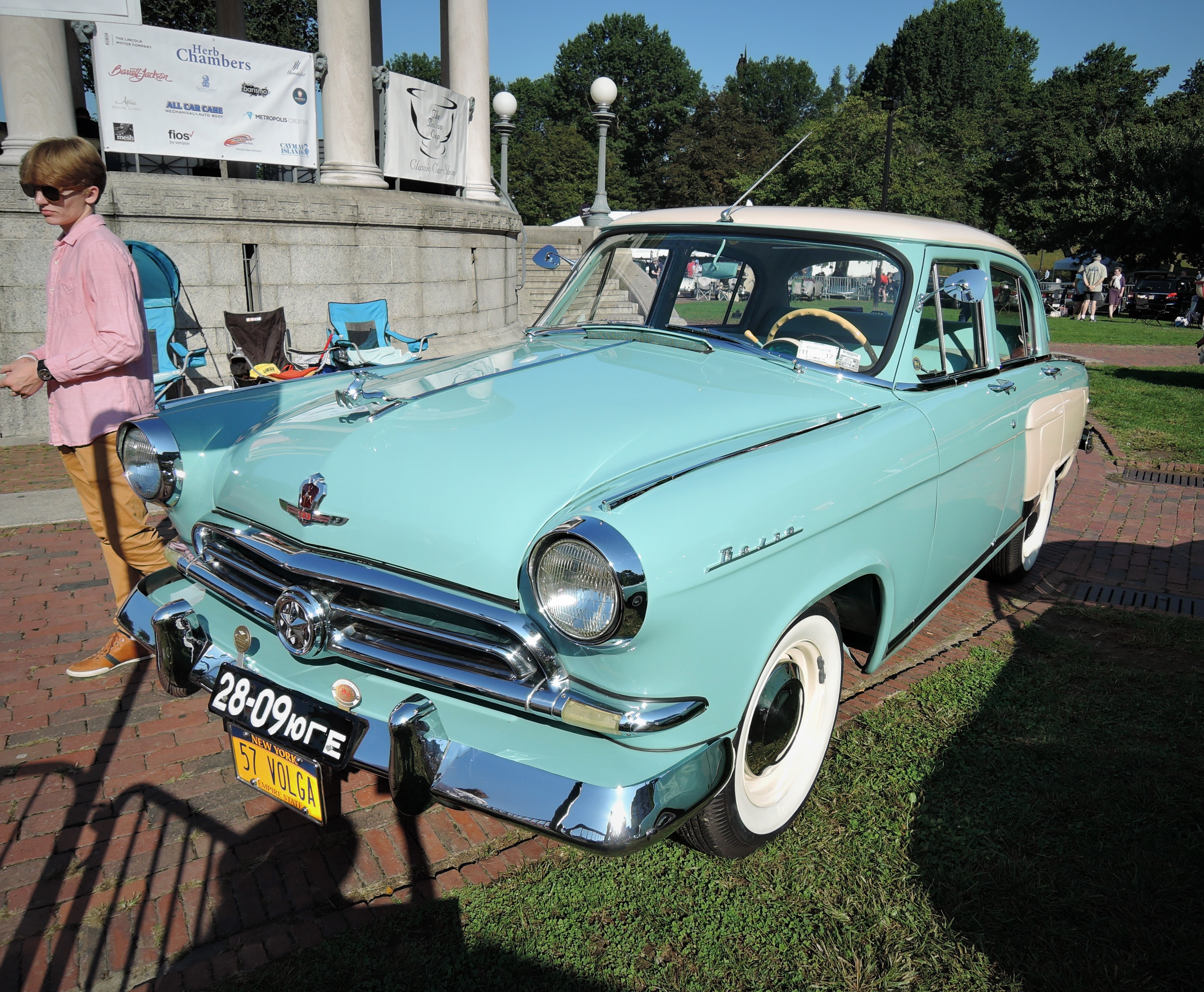 green 1957 Volga Gaz M21V - The Boston Cup 2017