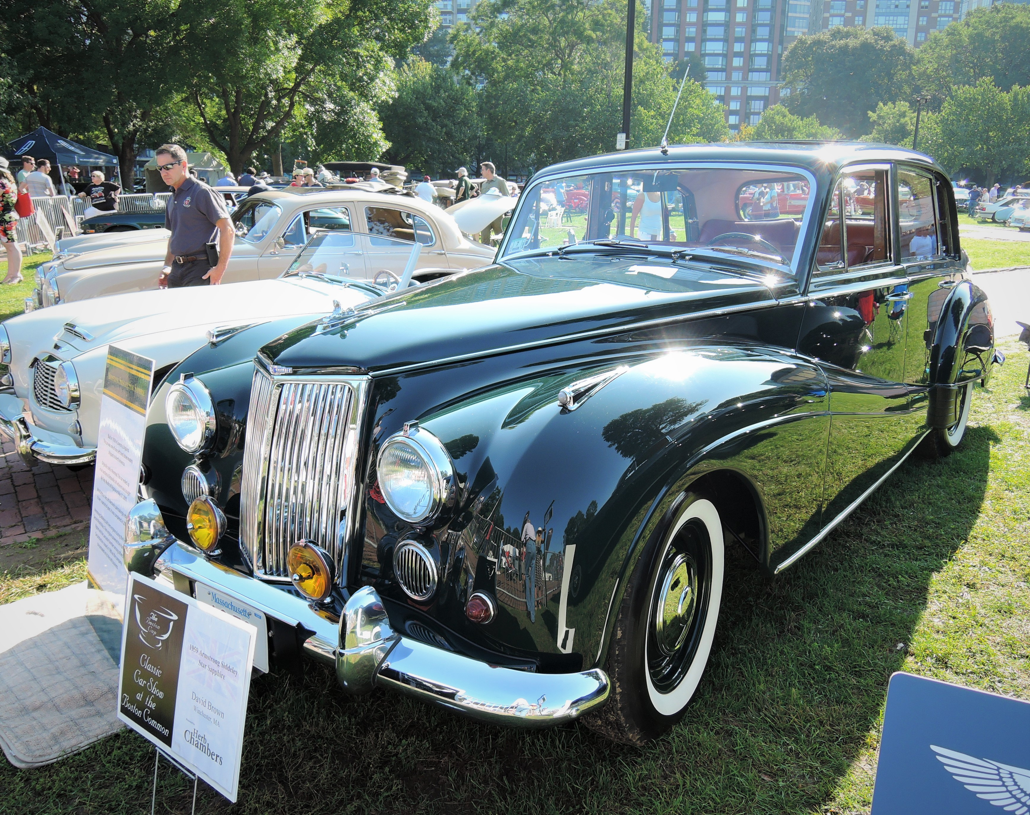 black 1959 Armstrong Siddeley Star Sapphire - The Boston Cup 2017