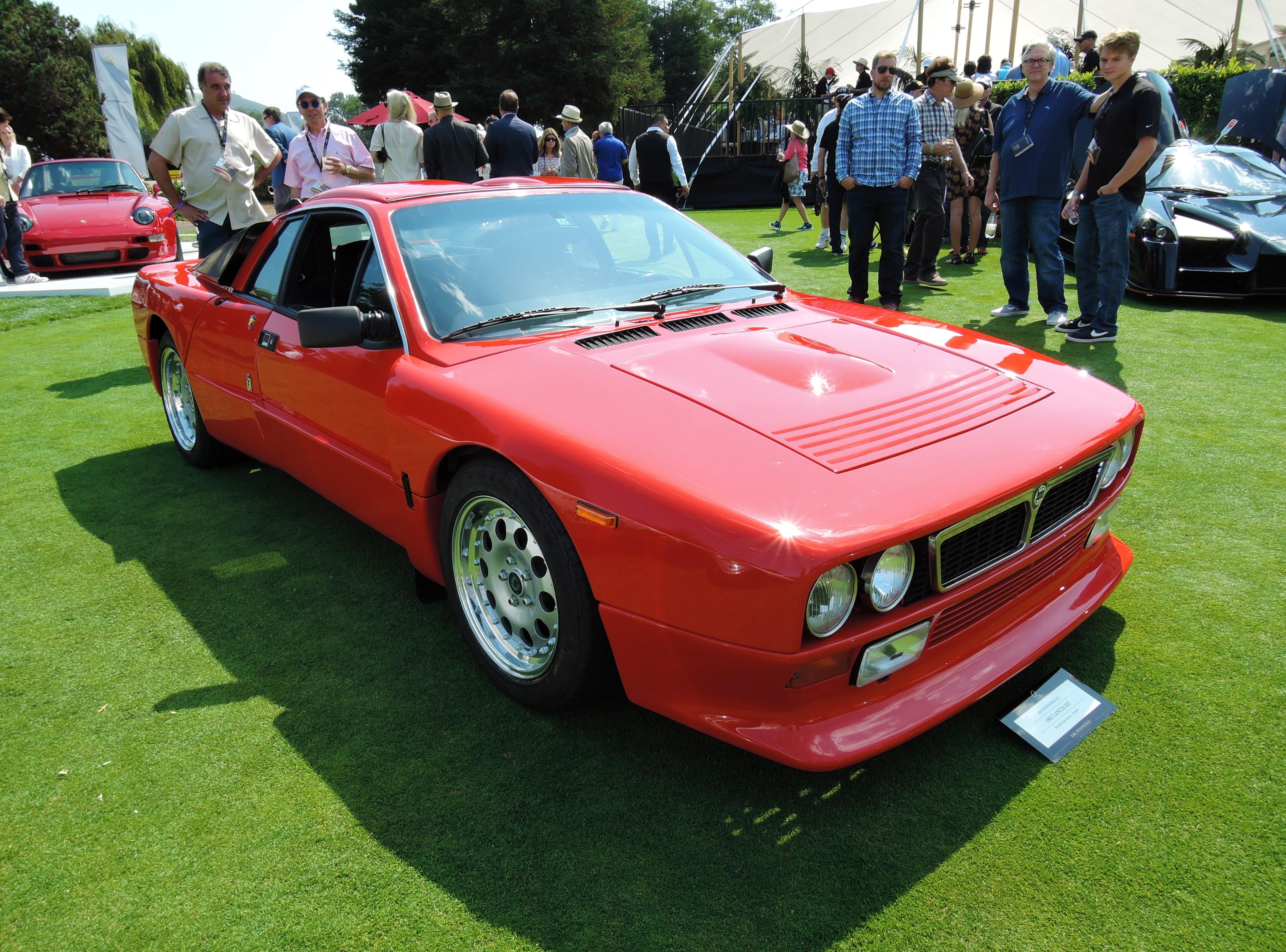 red 1982 Lancia 037 - The Quail 2017