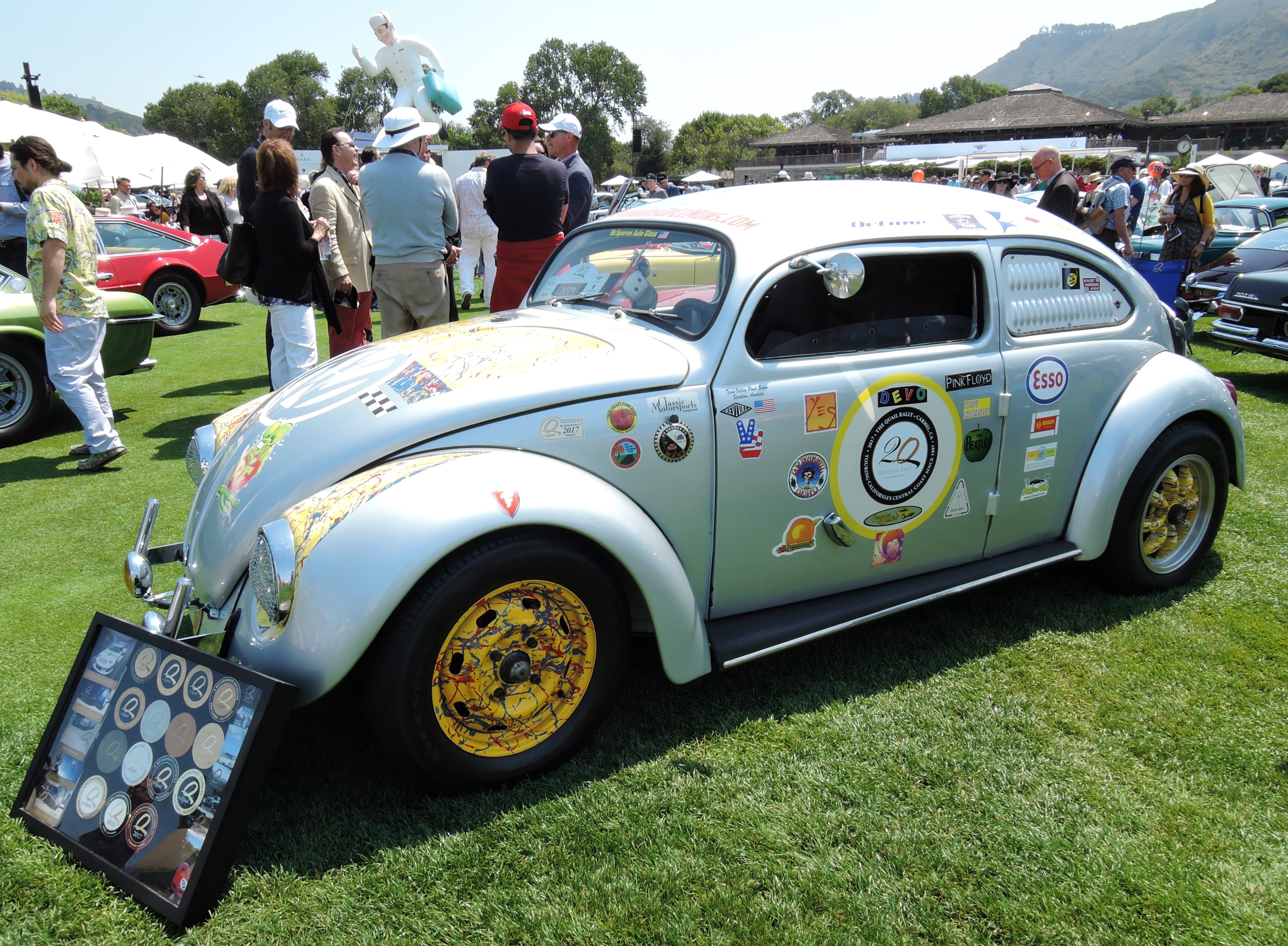 silver 1967 Volkswagen Outlaw Rally Car - The Quail 2017