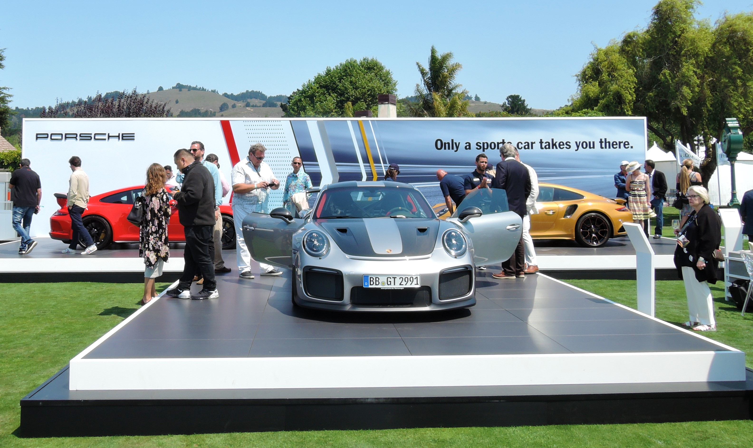 Porsche - The Quail 2017