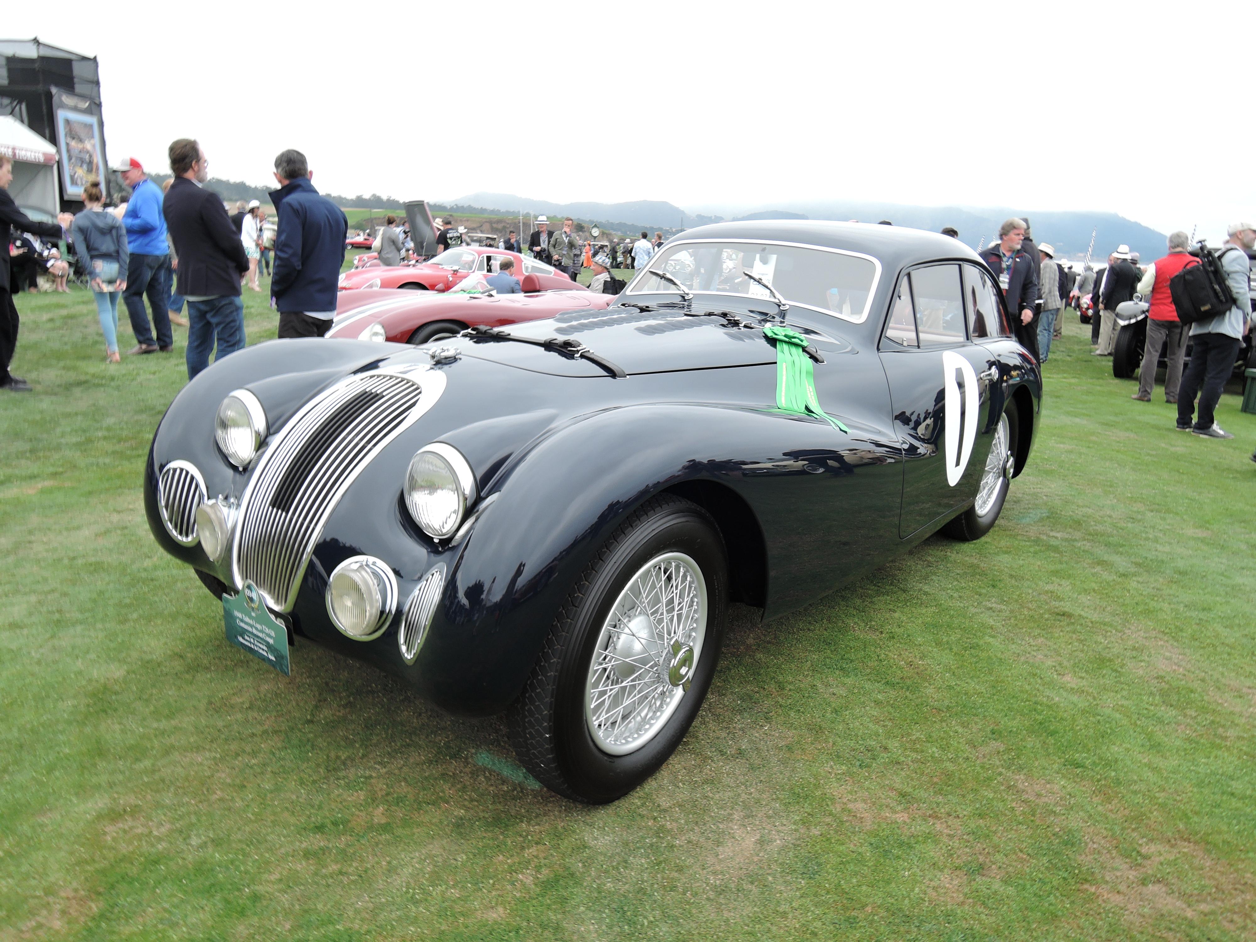 black 1948 Talbot-Lago T26 GS Contamin-Besset Coupe - Pebble Beach Concours d'Elegance 2017