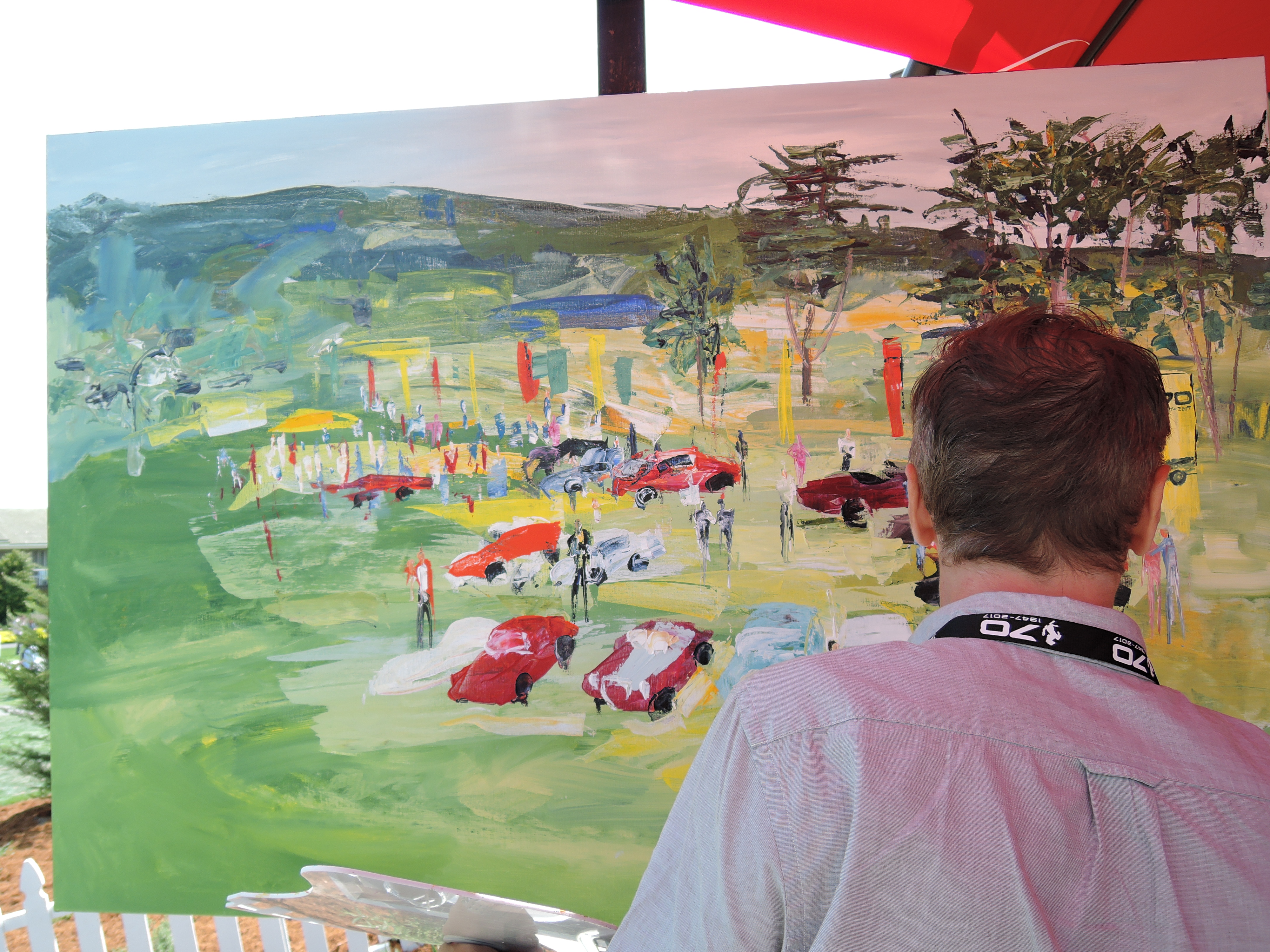 ferrari 70th hospitality at pebble beach 2017