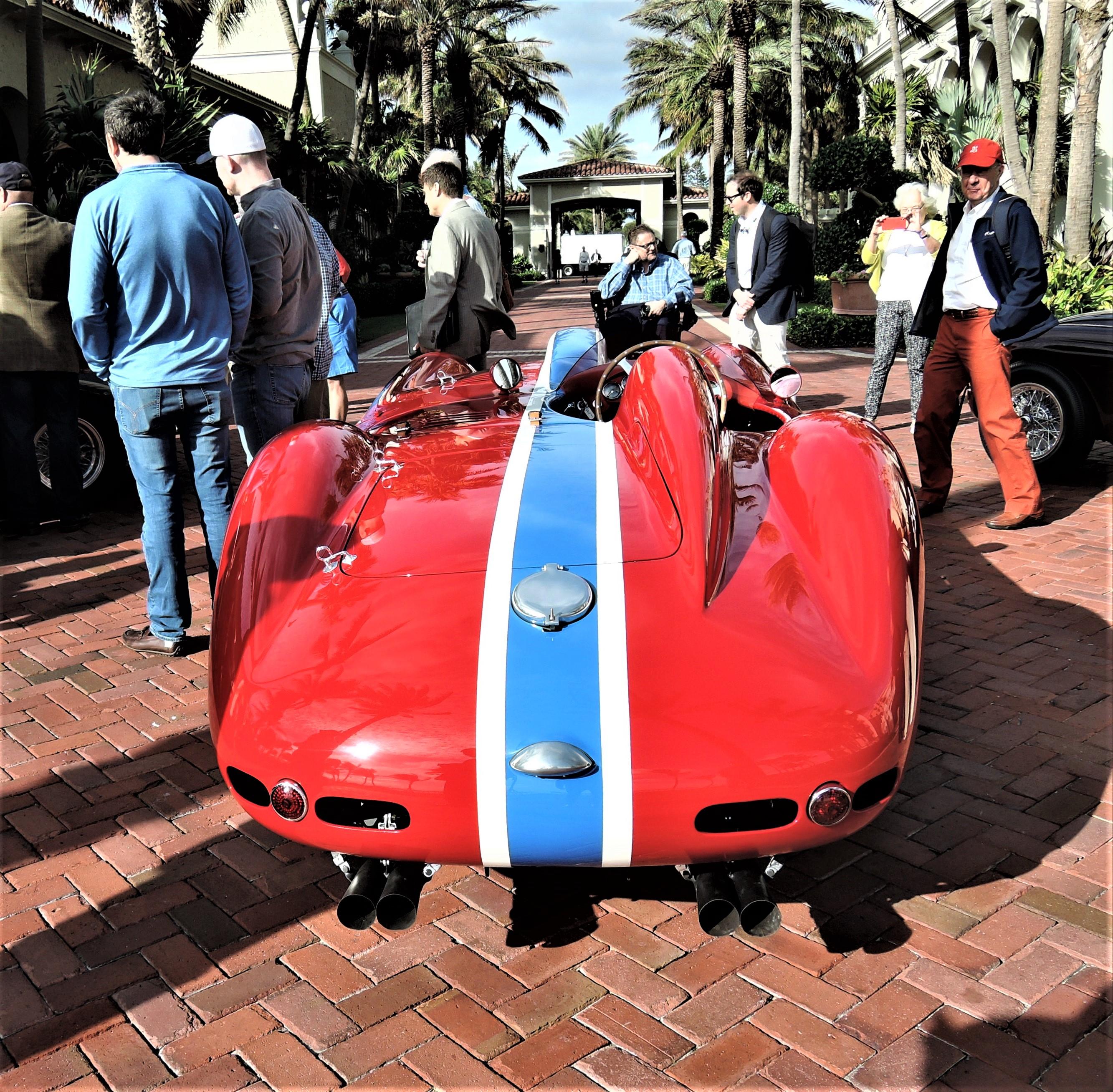 1955 Ferrari 410 Sport Scaglietti Spyder; Sn 0592 CM