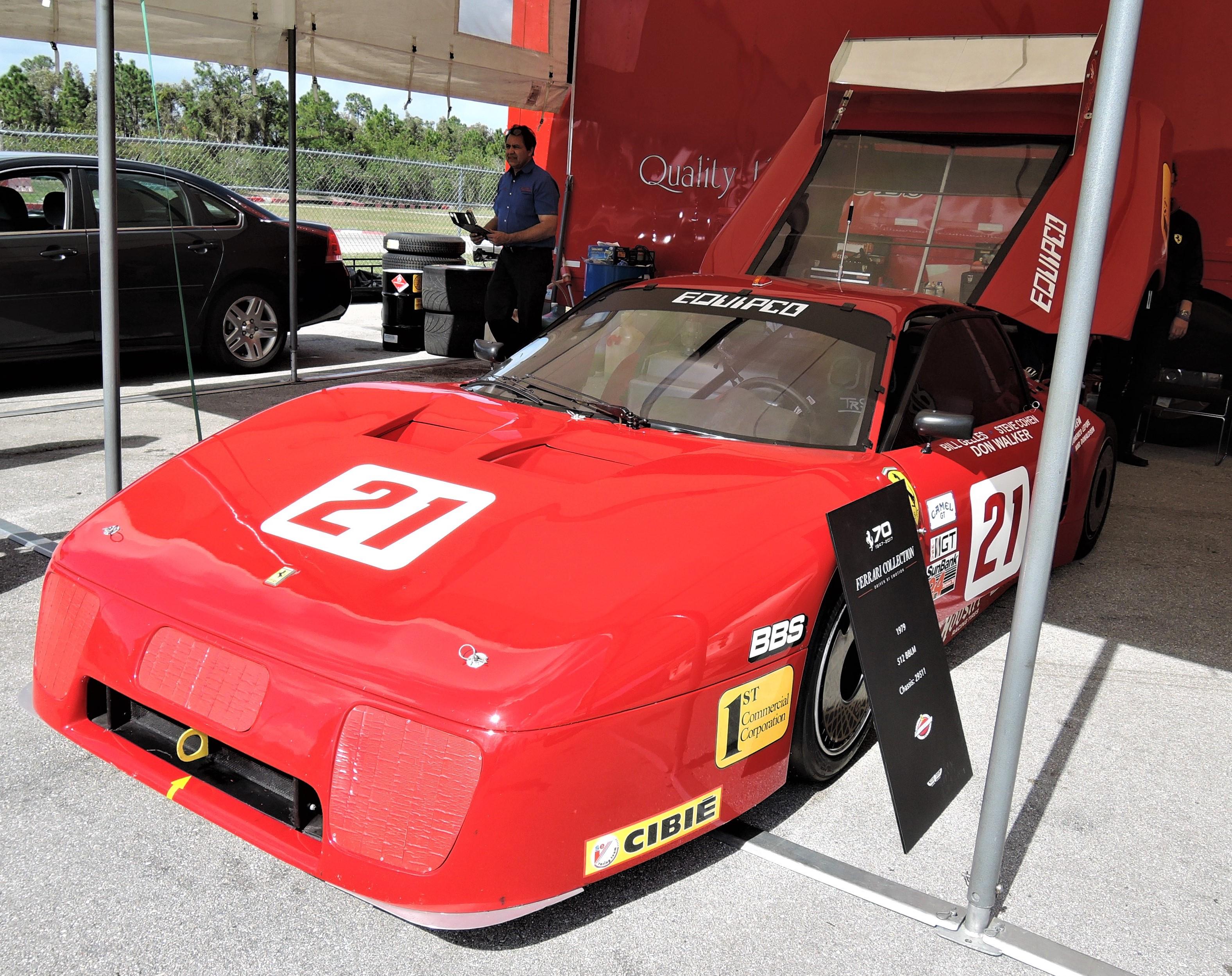 red Ferrari 512 BBLM Sn 29511 - PBIR - cavallino 2018
