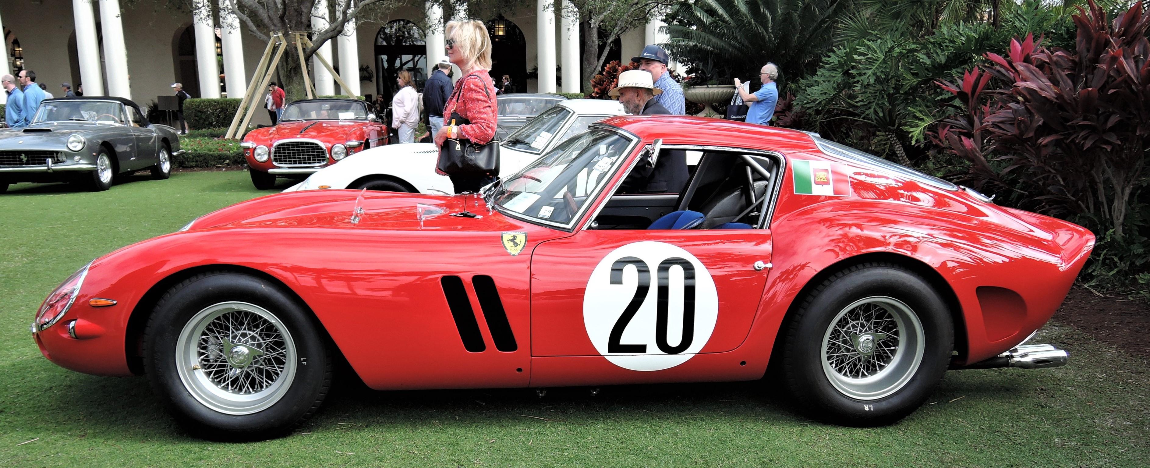 red 1963 Ferrari 250 GTO; Sn 4757 GT - Cavallino 2018 Concours