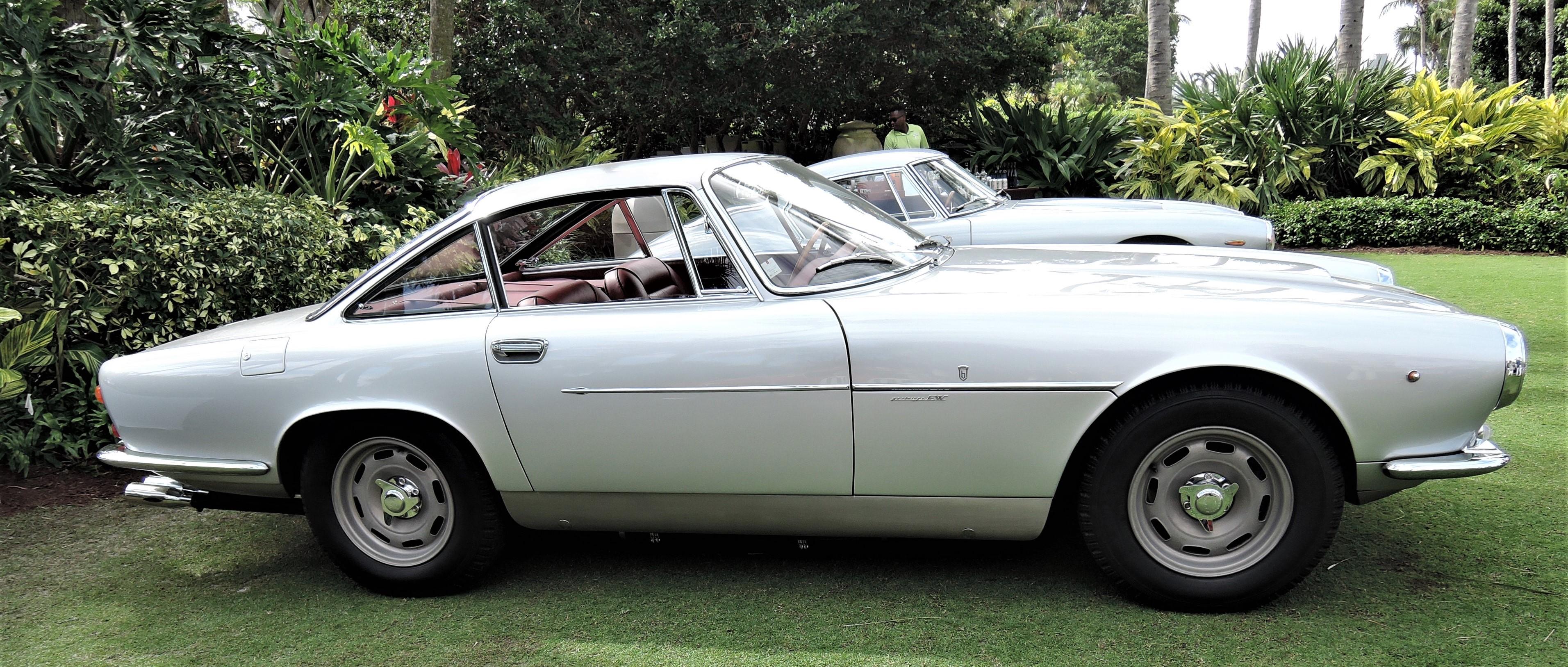 silver 1959 Ferrari 250 GT Bertone; Sn 1739 GT - Cavallino 2018 Concours