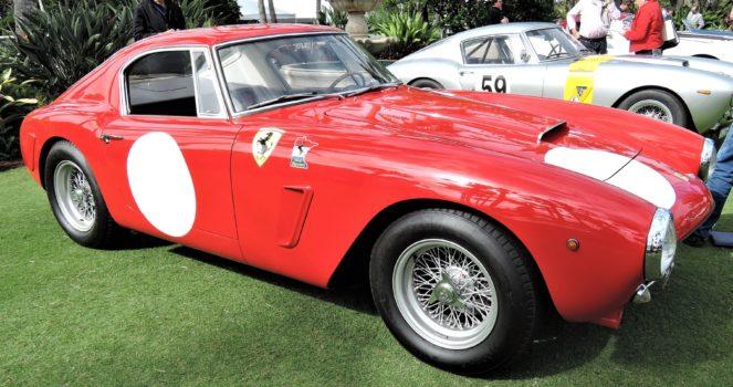 red 1963 Ferrari 250 GT SWB Berlinetta; Sn 4157 GT - Cavallino 2018 Concours
