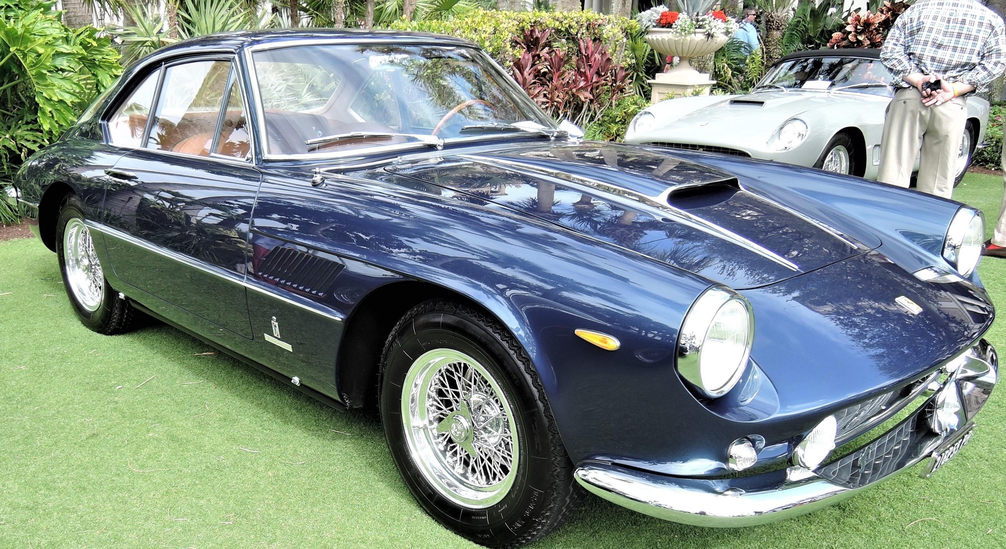 blue 1961 Ferrari Superamerica; Sn 2841 SA - Cavallino 2018 Concours