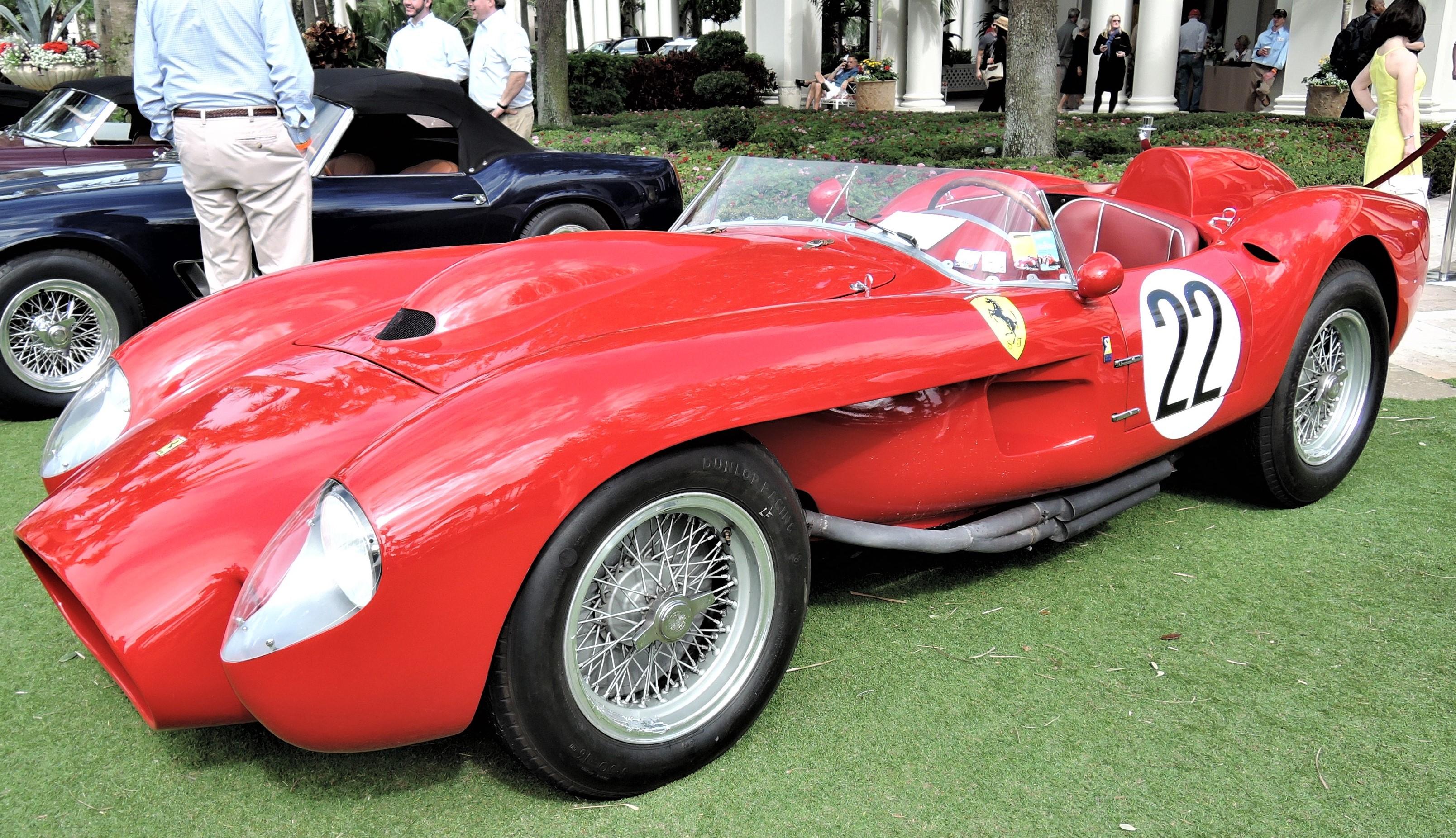 red 1958 Ferrari 250 Testarossa; Sn 0754 TR - Cavallino 2018 Concours
