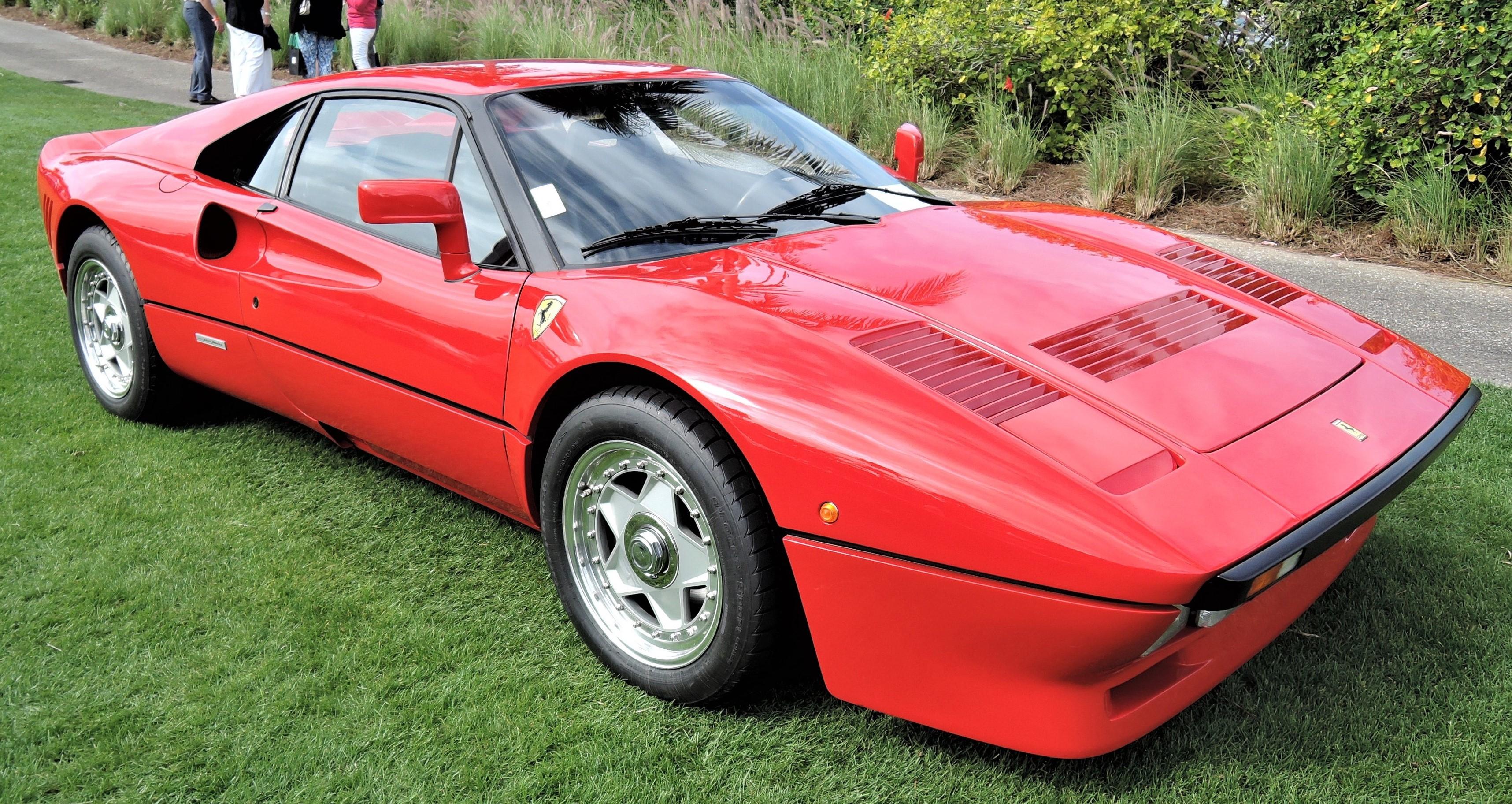 red 1985 Ferrari 288 GTO; Sn 55223 - Cavallino 2018 Concours