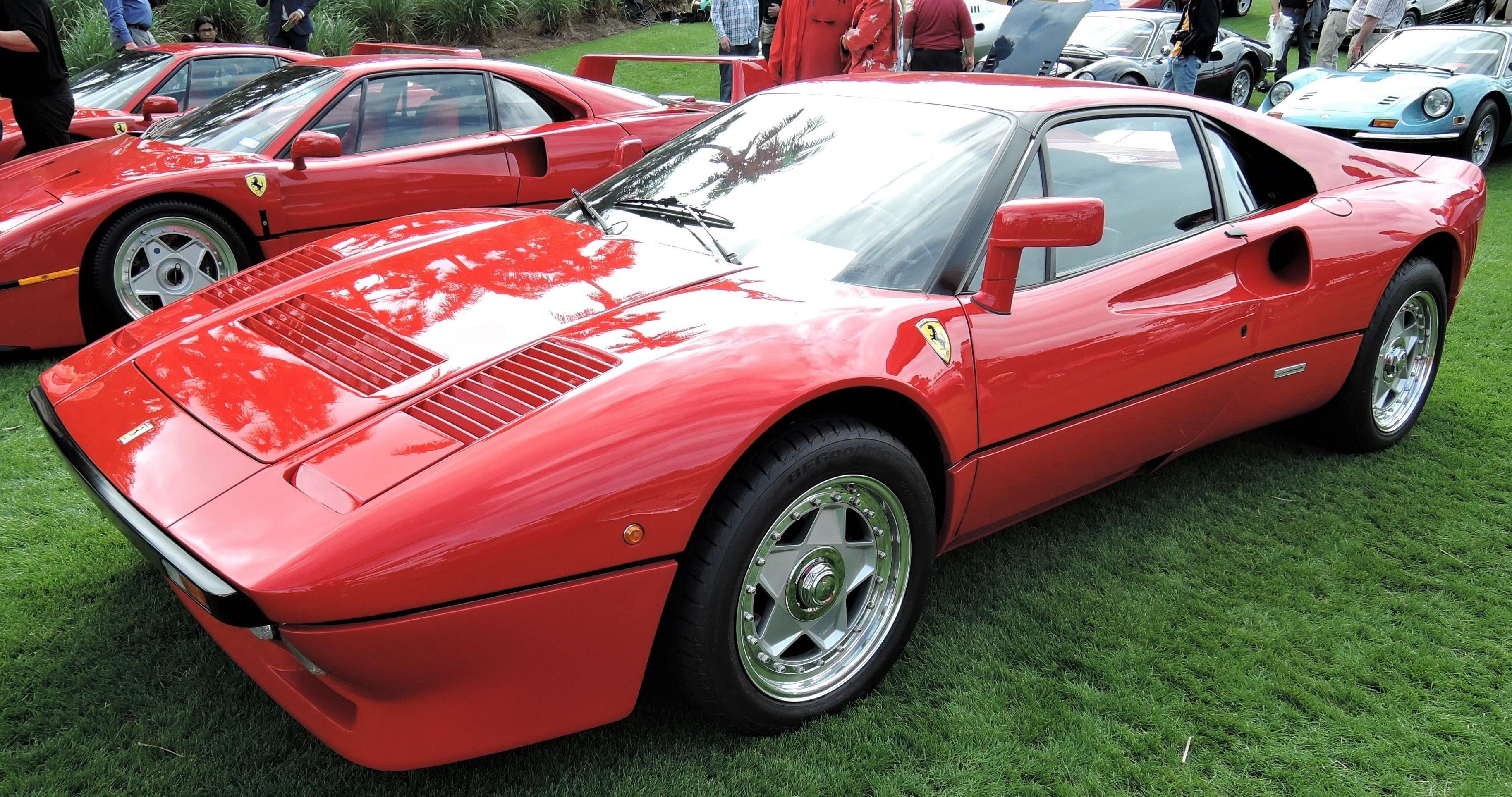 red 1984 Ferrari 288 GTO; Sn 52743 - Cavallino 2018 Concours