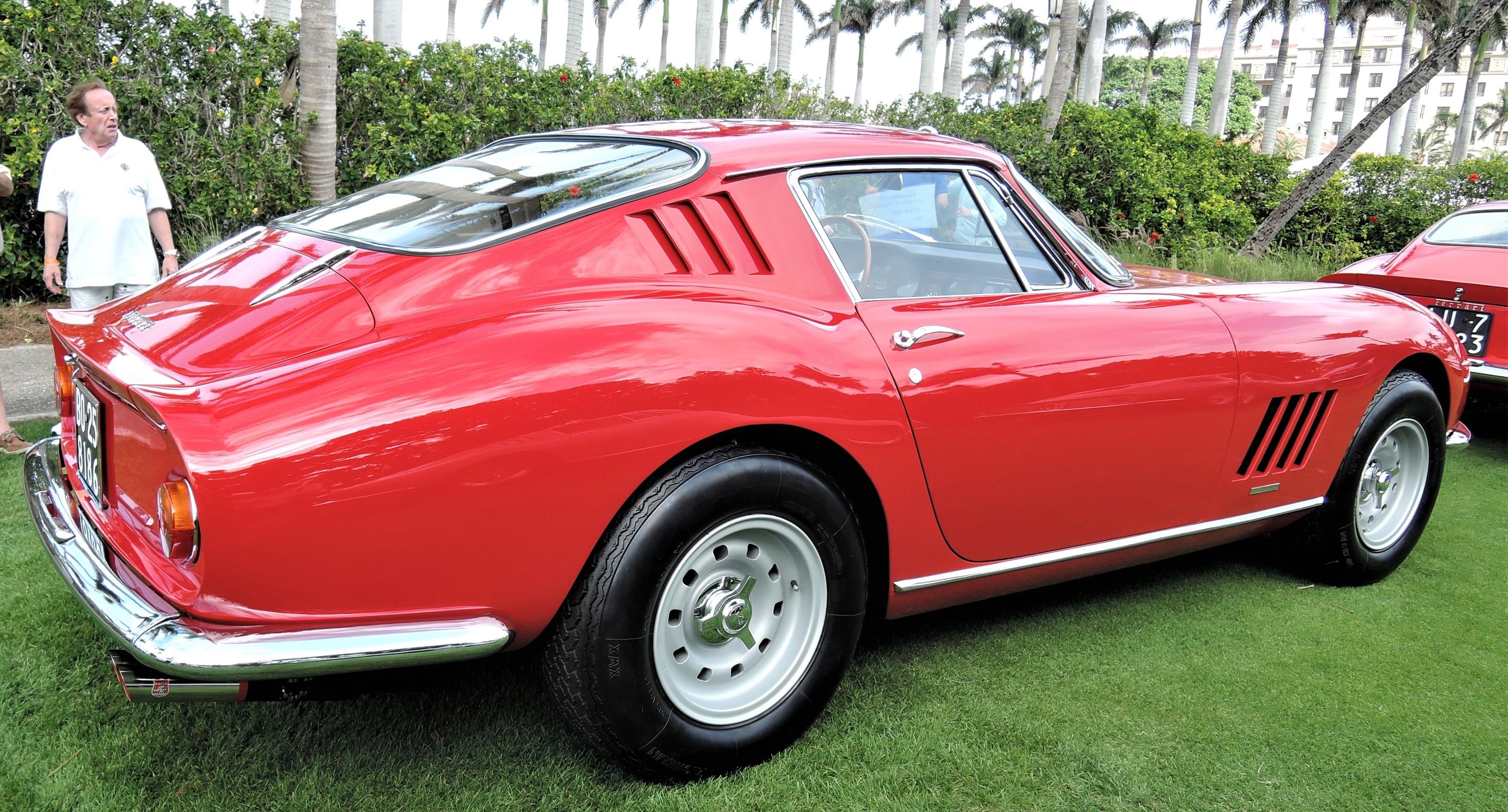 red 1966 Ferrari 275 GTB Alloy; Sn 08046 - Cavallino 2018 Concours