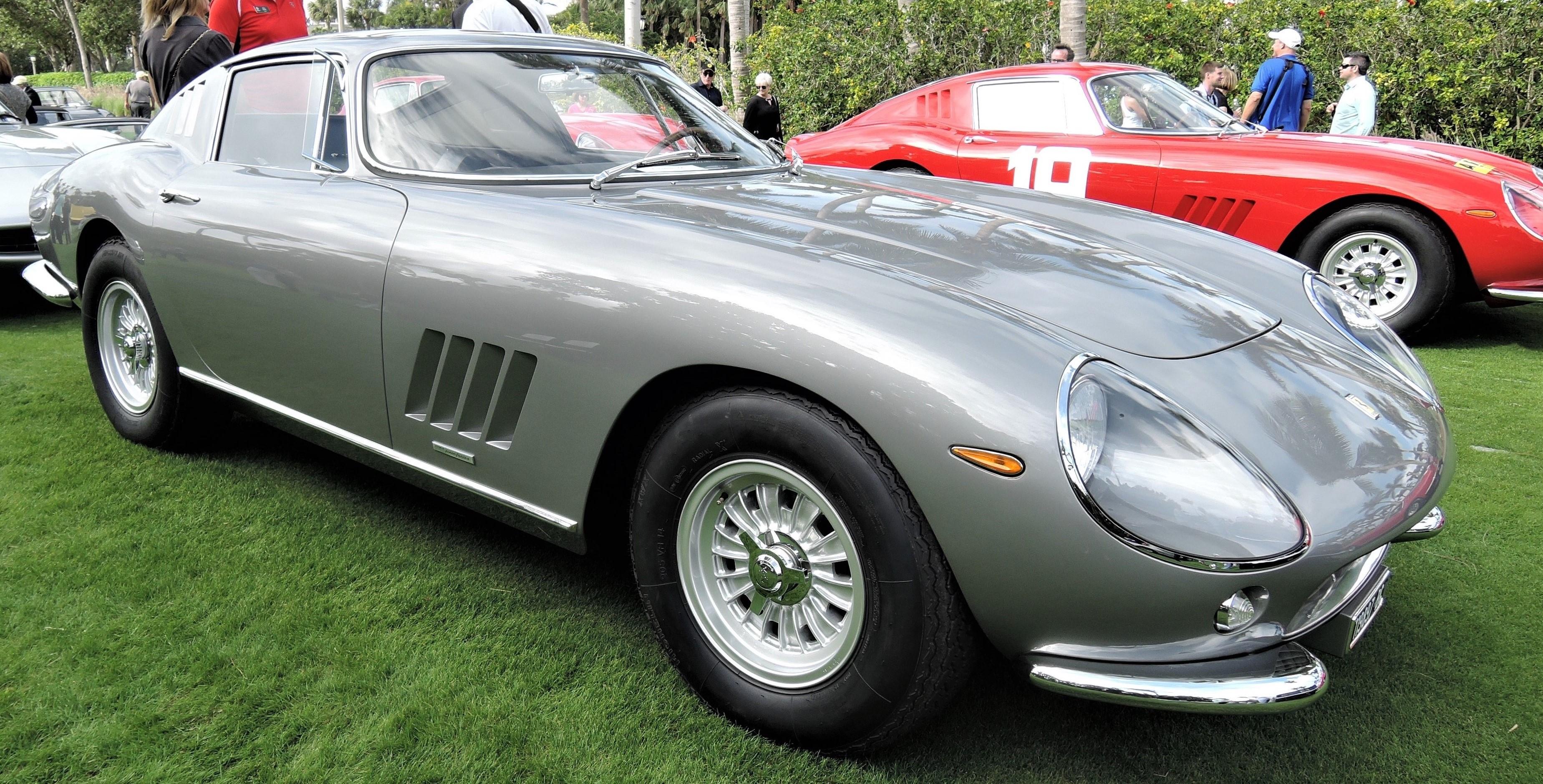 silver 1965 Ferrari 275 GTB; Sn 06899 - Cavallino 2018 Concours