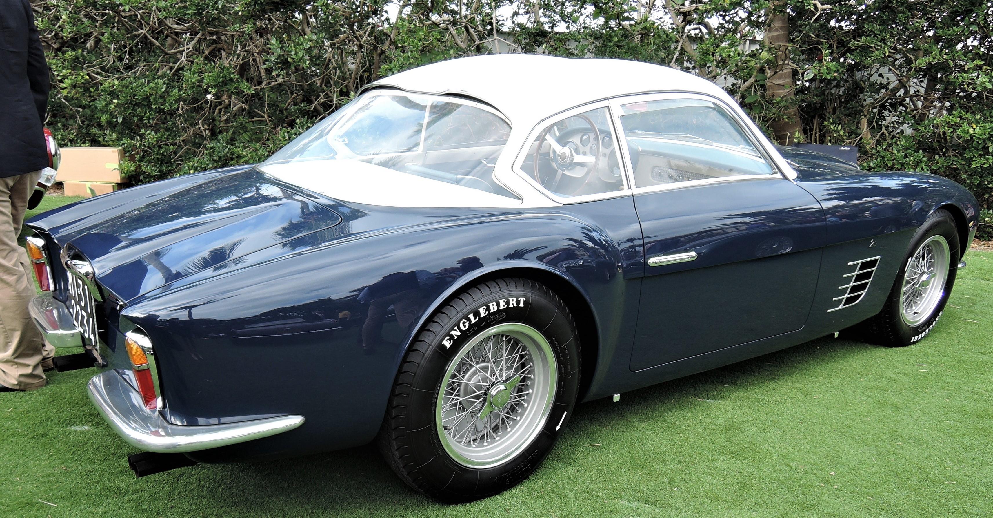 Best of Show blue 1956 Ferrari 250 GT Zagato; Sn 0515 GT - Cavallino 2018 Concours